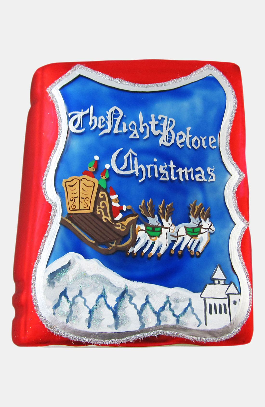 Main Image - Nordstrom at Home 'Night Before Christmas' Ornament