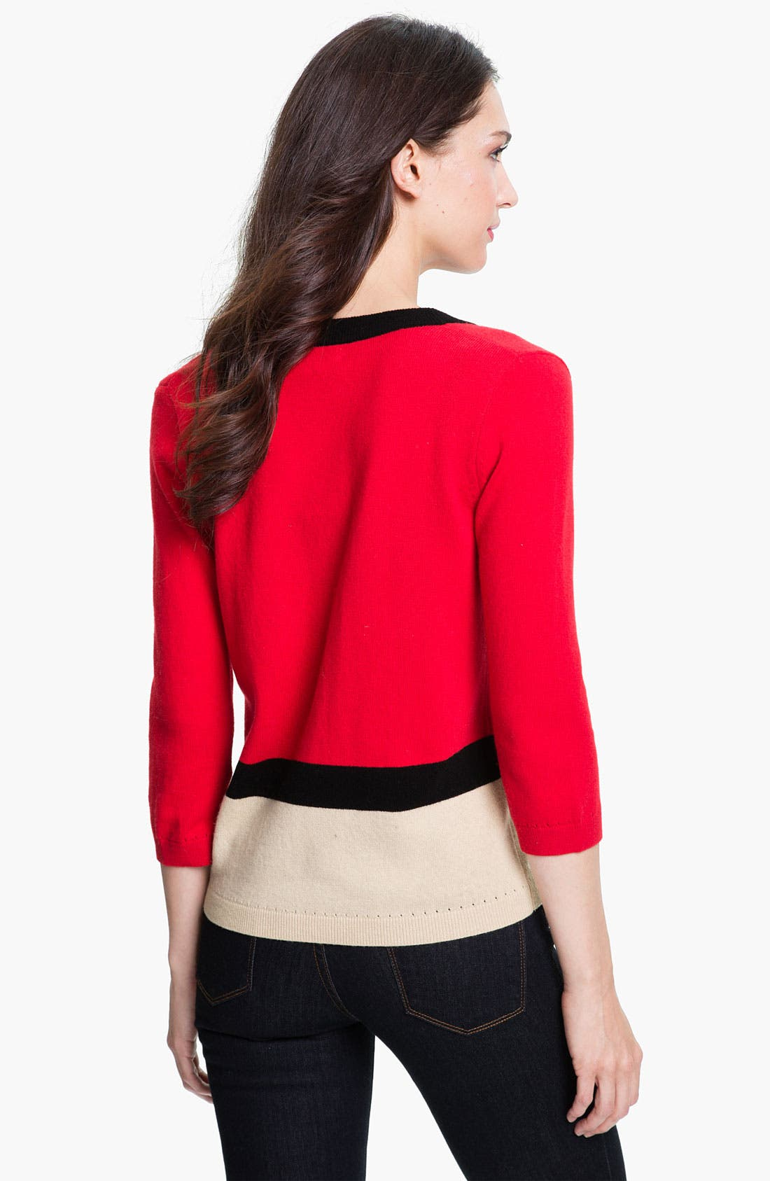 Alternate Image 2  - kate spade new york 'thandie' merino wool cardigan