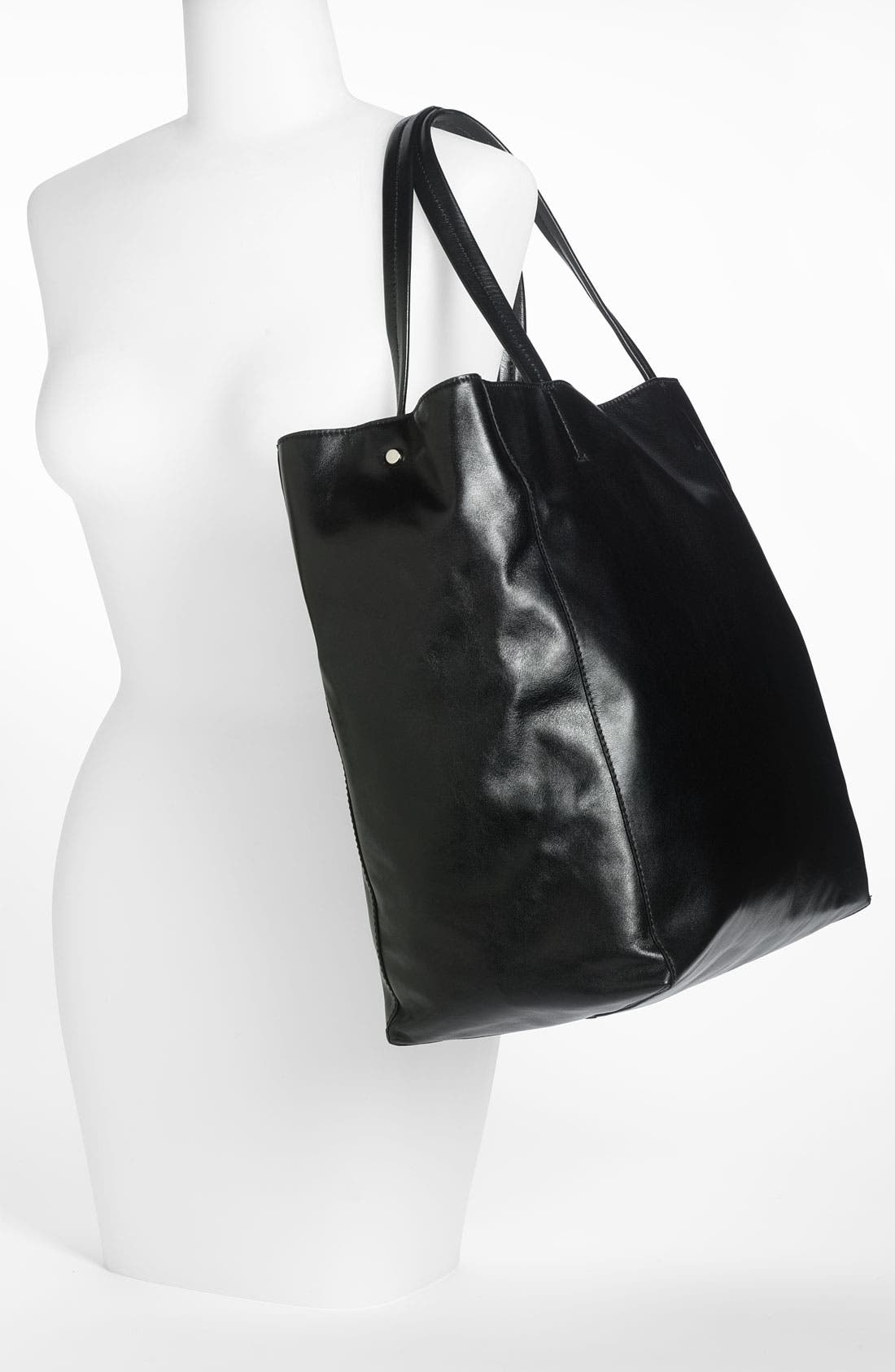 Alternate Image 2  - Lafayette 148 New York 'Anna' Leather Tote
