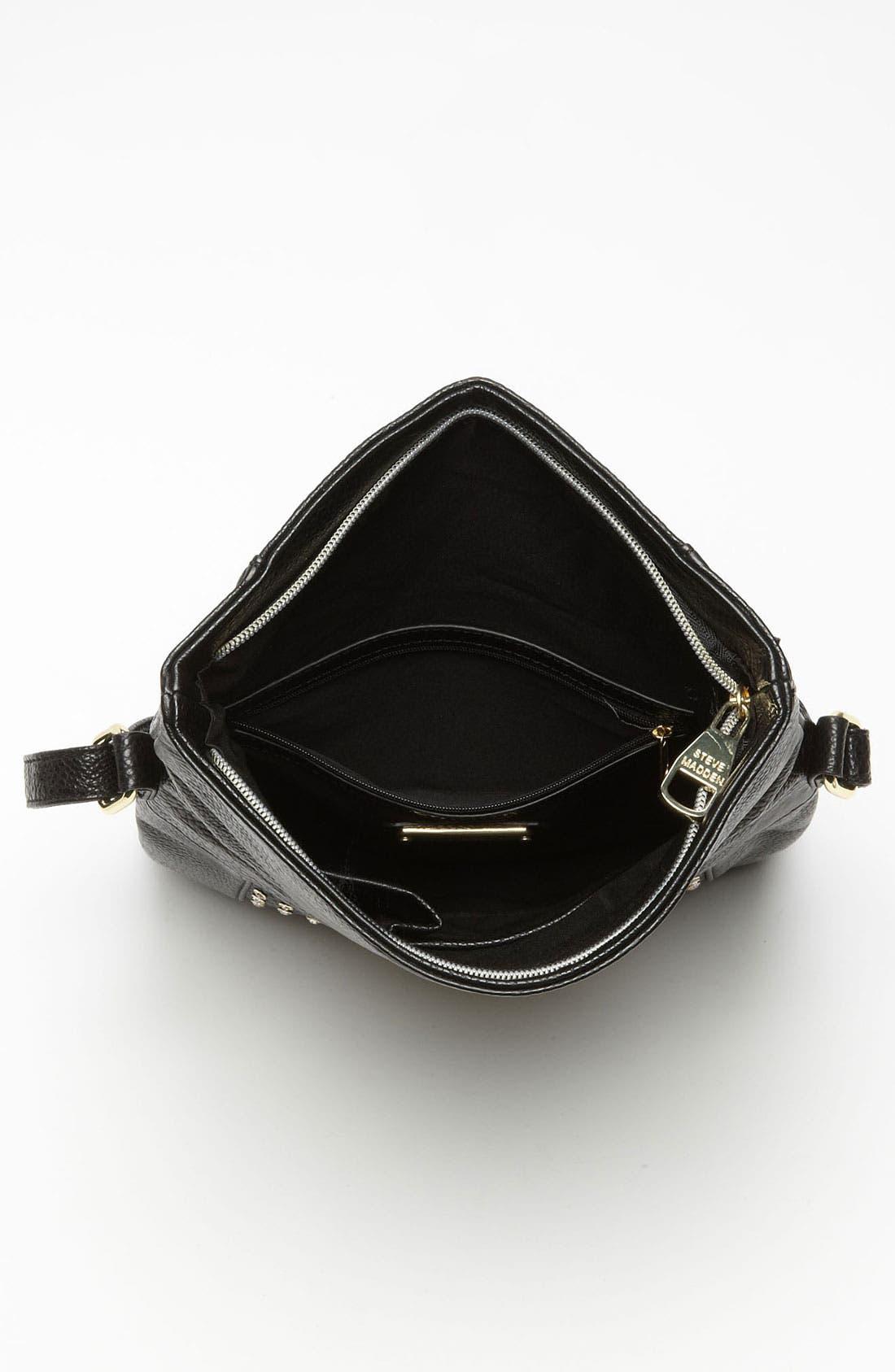 Alternate Image 3  - Steve Madden 'Stud Love' Foldover Crossbody Bag