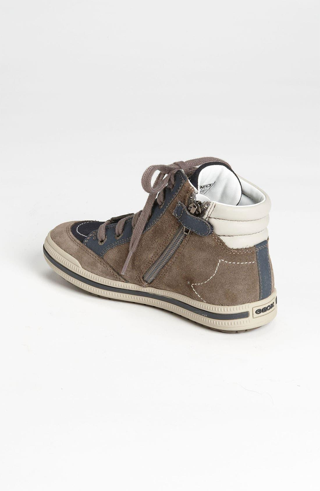 Alternate Image 2  - Geox High Top Sneaker (Toddler, Little Kid & Big Kid)
