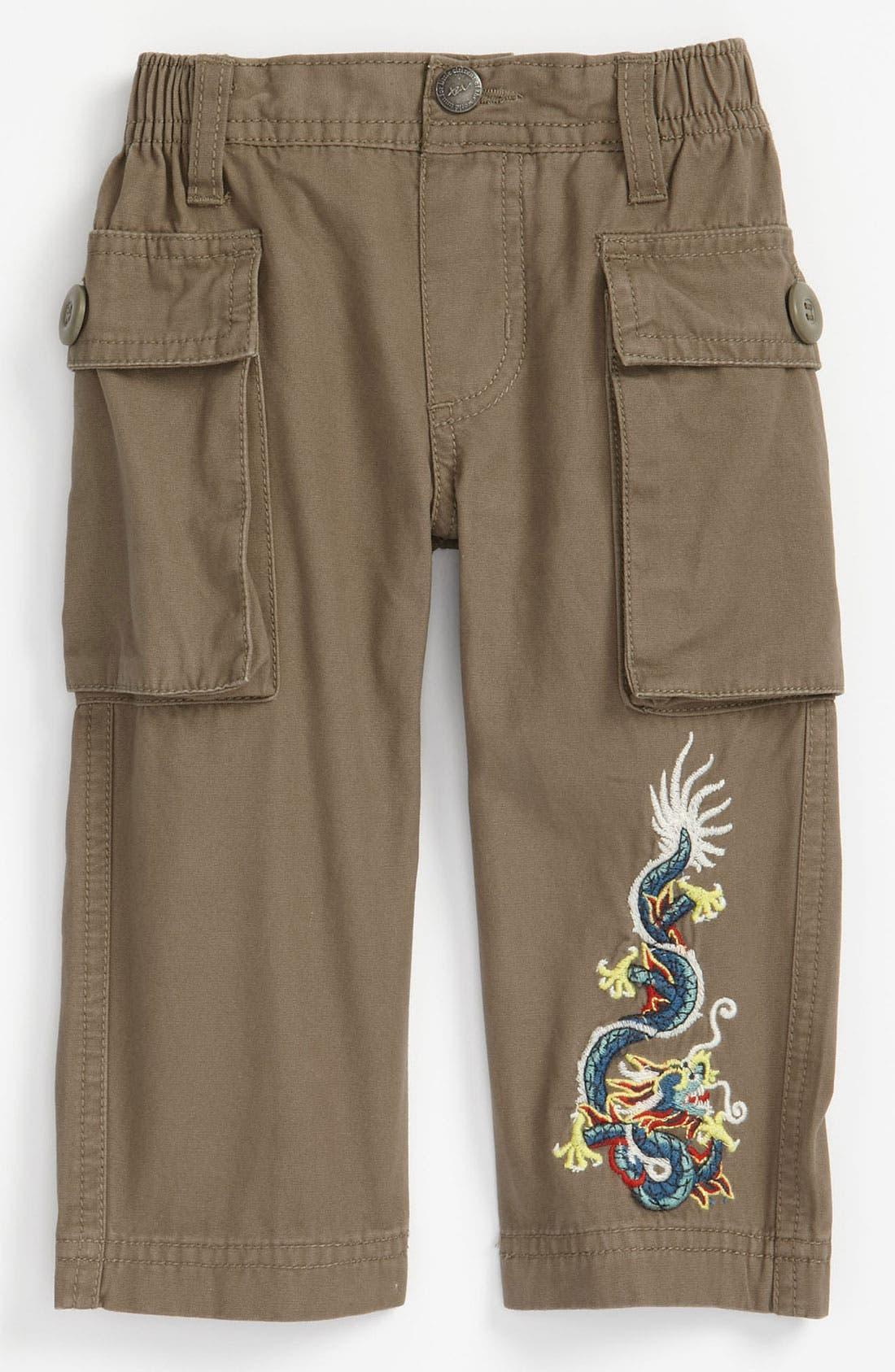 Alternate Image 1 Selected - Tea Collection 'Sejong' Dragon Pants (Infant)