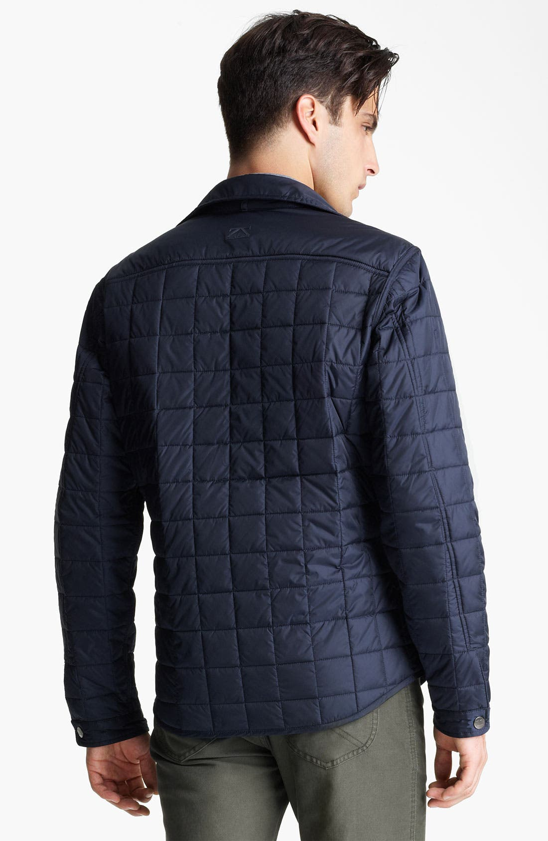 Alternate Image 2  - Zegna Sport Reversible Quilted Jacket