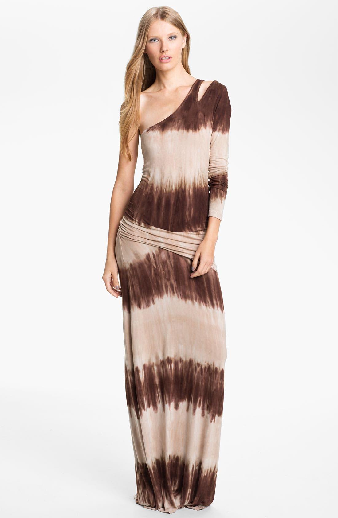 Main Image - Young, Fabulous & Broke 'Vinny' One Shoulder Maxi Dress
