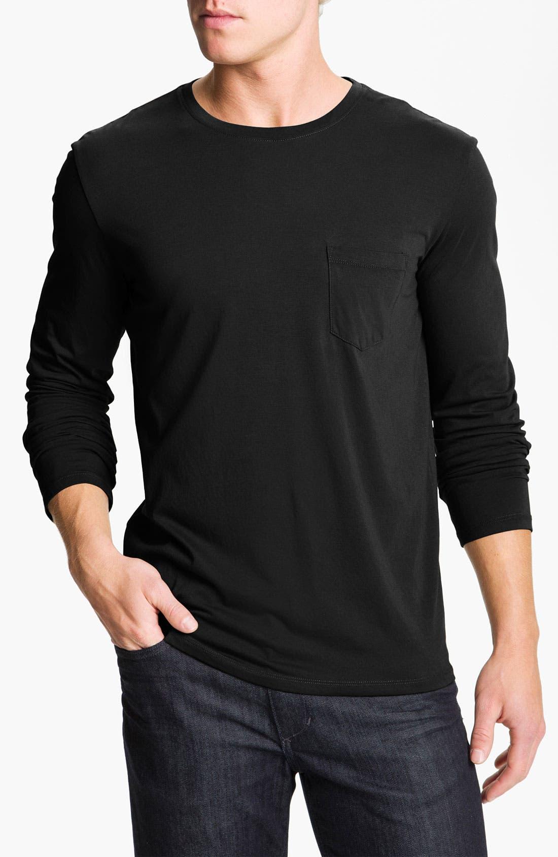 Alternate Image 1 Selected - Vince Long Sleeve T-Shirt