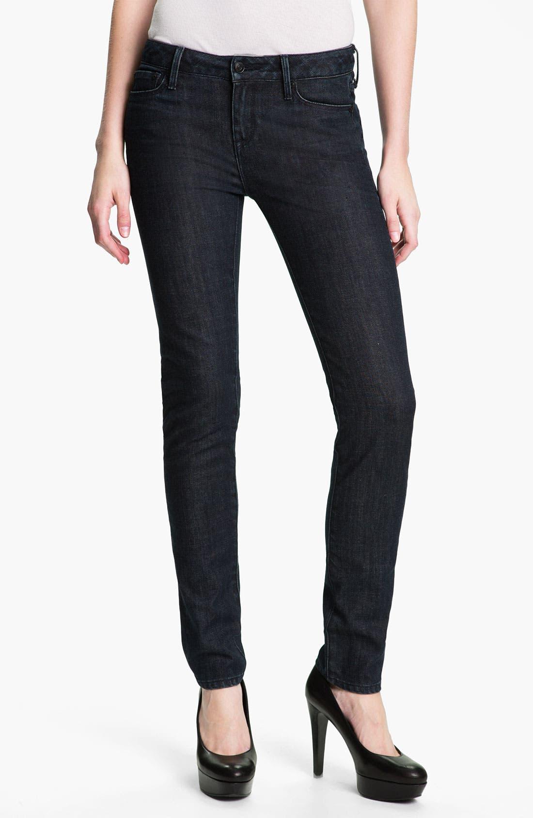 Main Image - Vince Stretch Skinny Jeans (Dark Vintage)