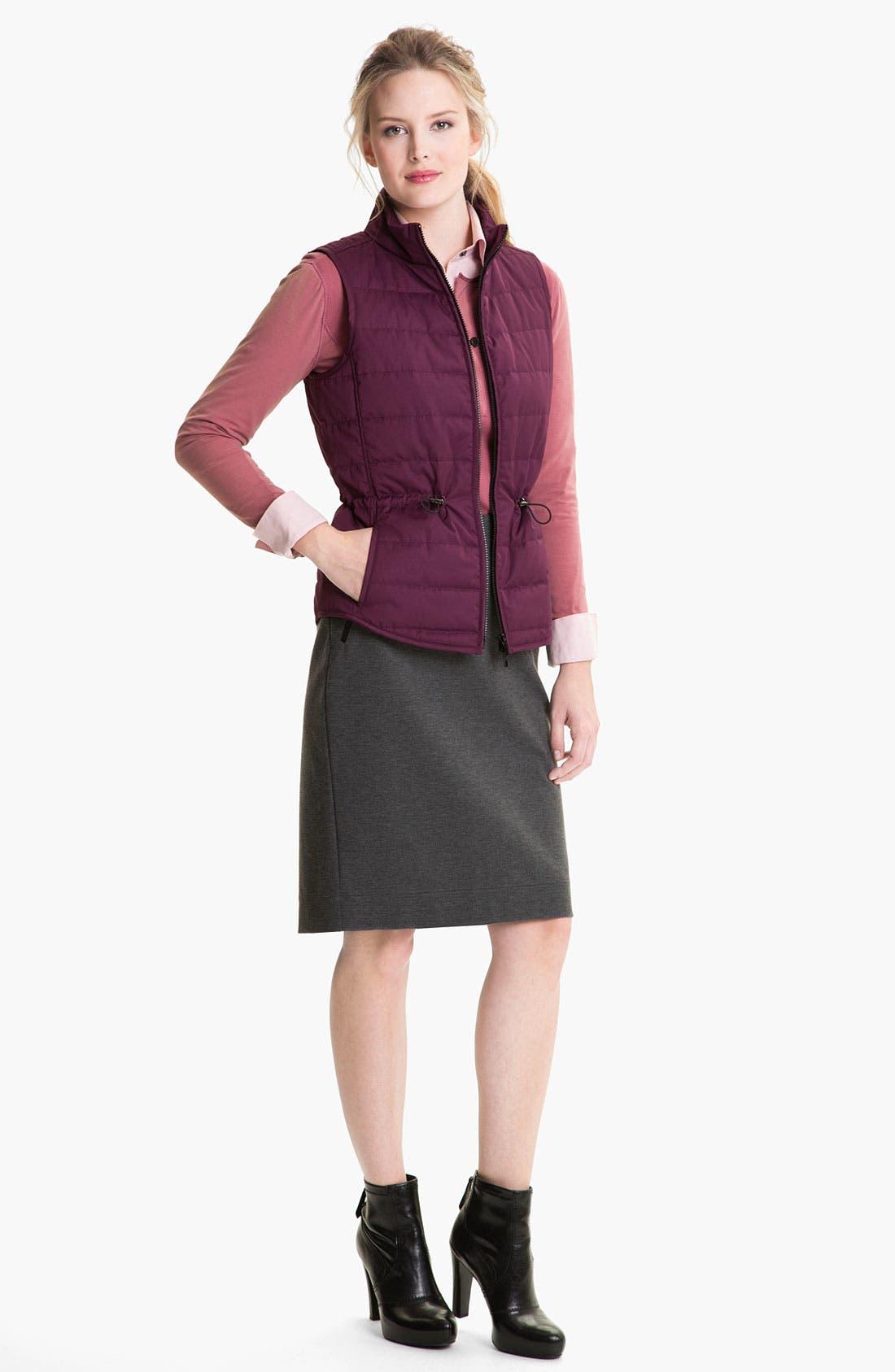 Alternate Image 4  - Lafayette 148 New York Heather Ponte Skirt