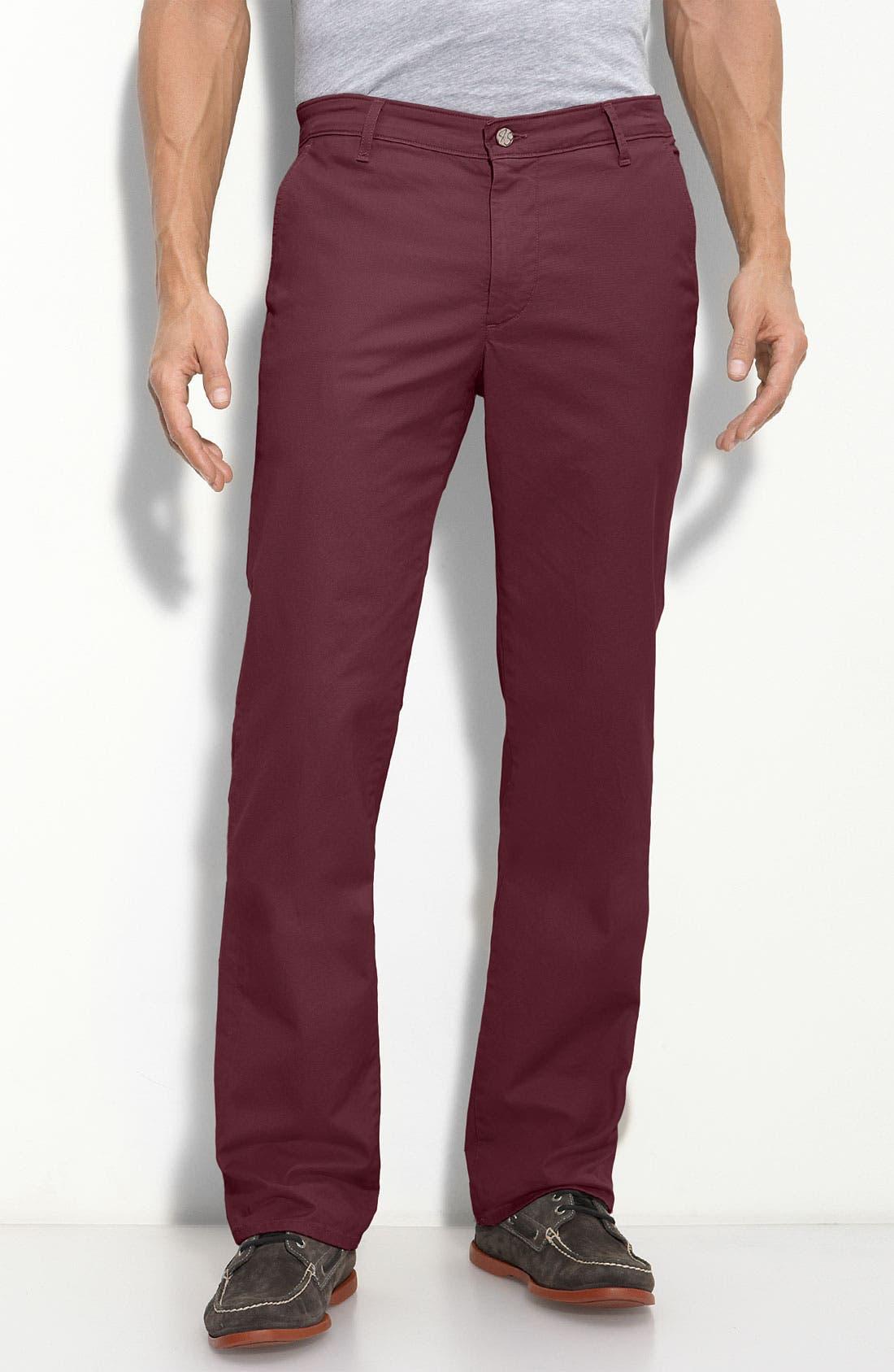 Alternate Image 1 Selected - Wallin & Bros. Sport Shirt & AG Jeans Pants