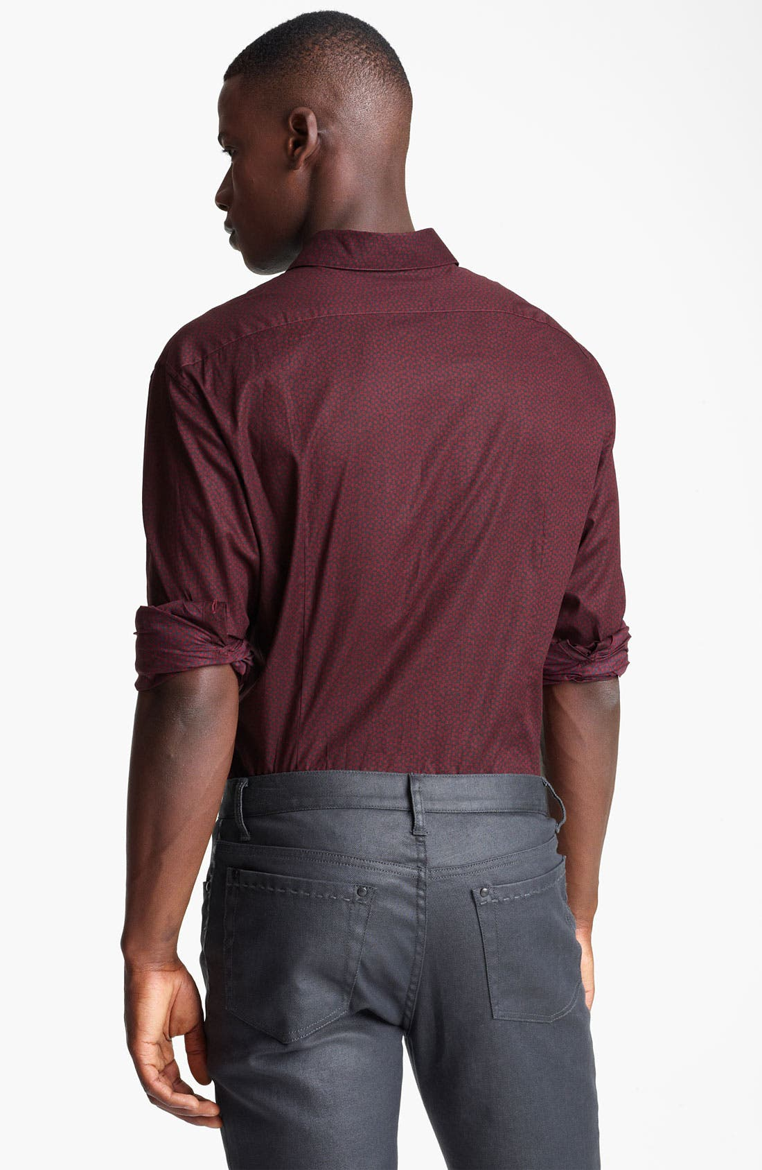 Alternate Image 2  - John Varvatos Collection Slim Fit Sport Shirt