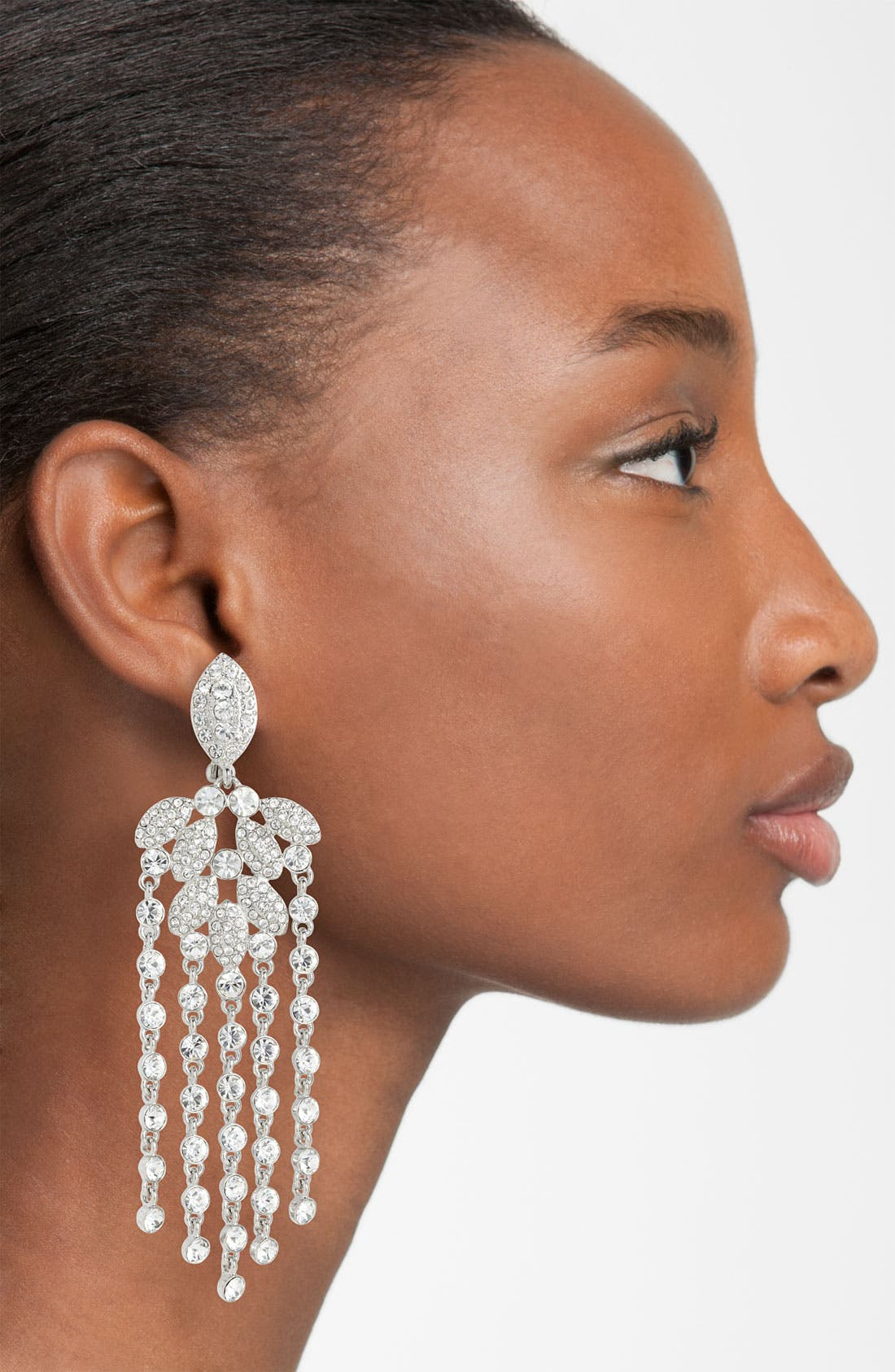 Alternate Image 1  - Givenchy Crystal Chandelier Earrings