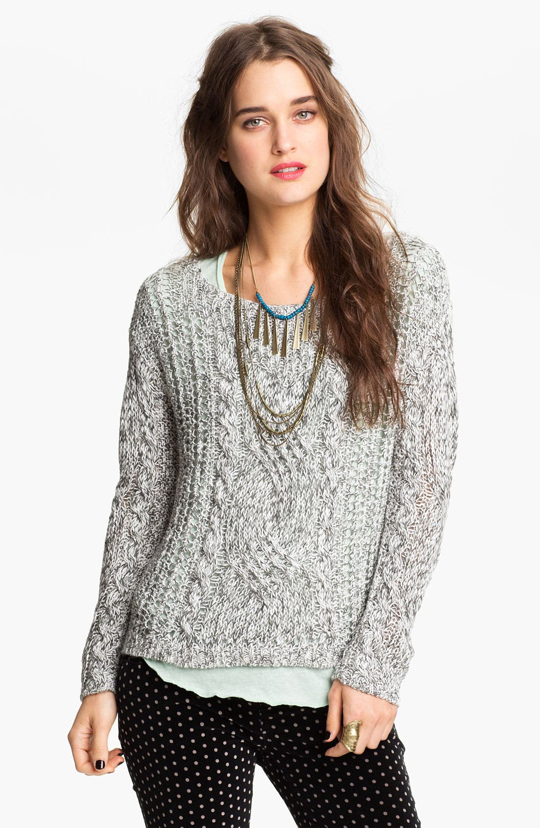 Alternate Image 1 Selected - Free People 'West End' Sweater