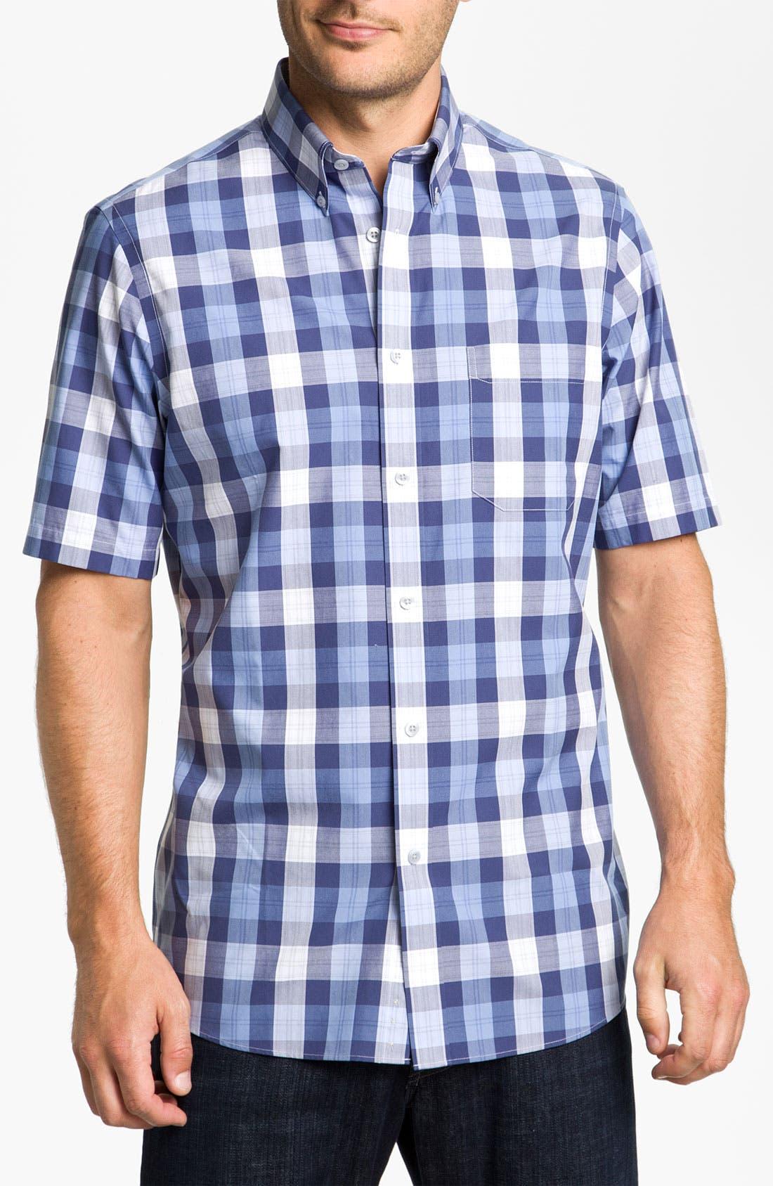 Alternate Image 1 Selected - Nordstrom Smartcare™ Poplin Sport Shirt