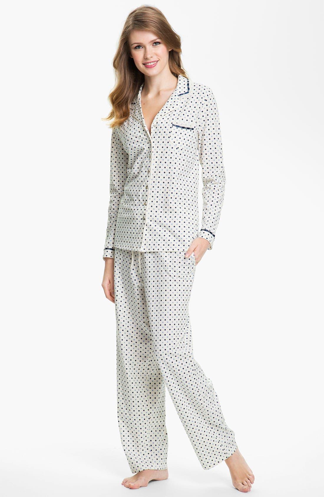 Alternate Image 1 Selected - Eileen West 'Charm' Pajamas