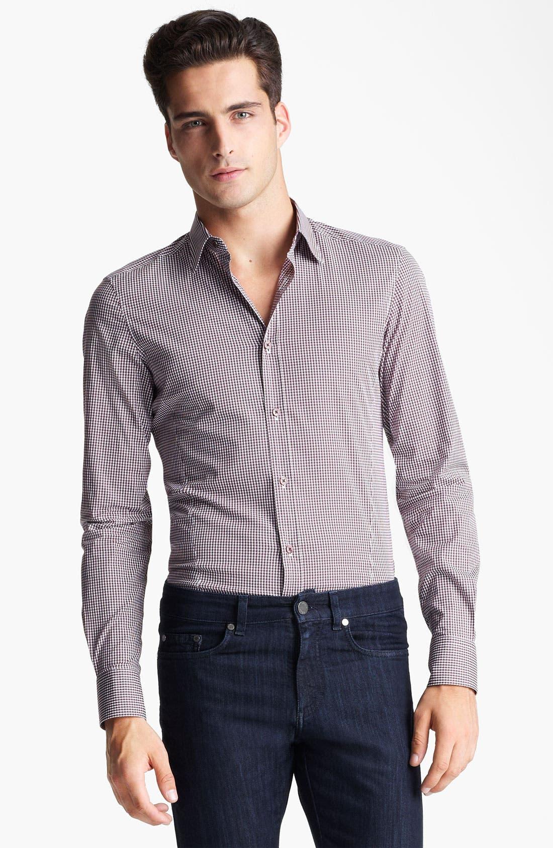 Main Image - Z Zegna Slim Fit Sport Shirt