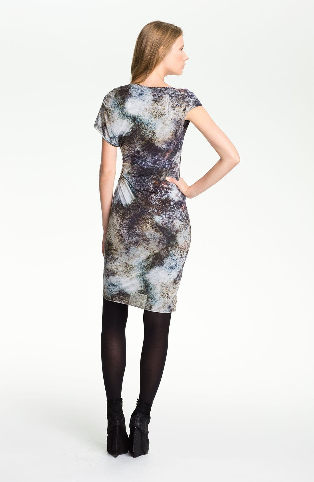 Alternate Image 2  - Helmut Lang 'Oxide Print' Twisted Dress