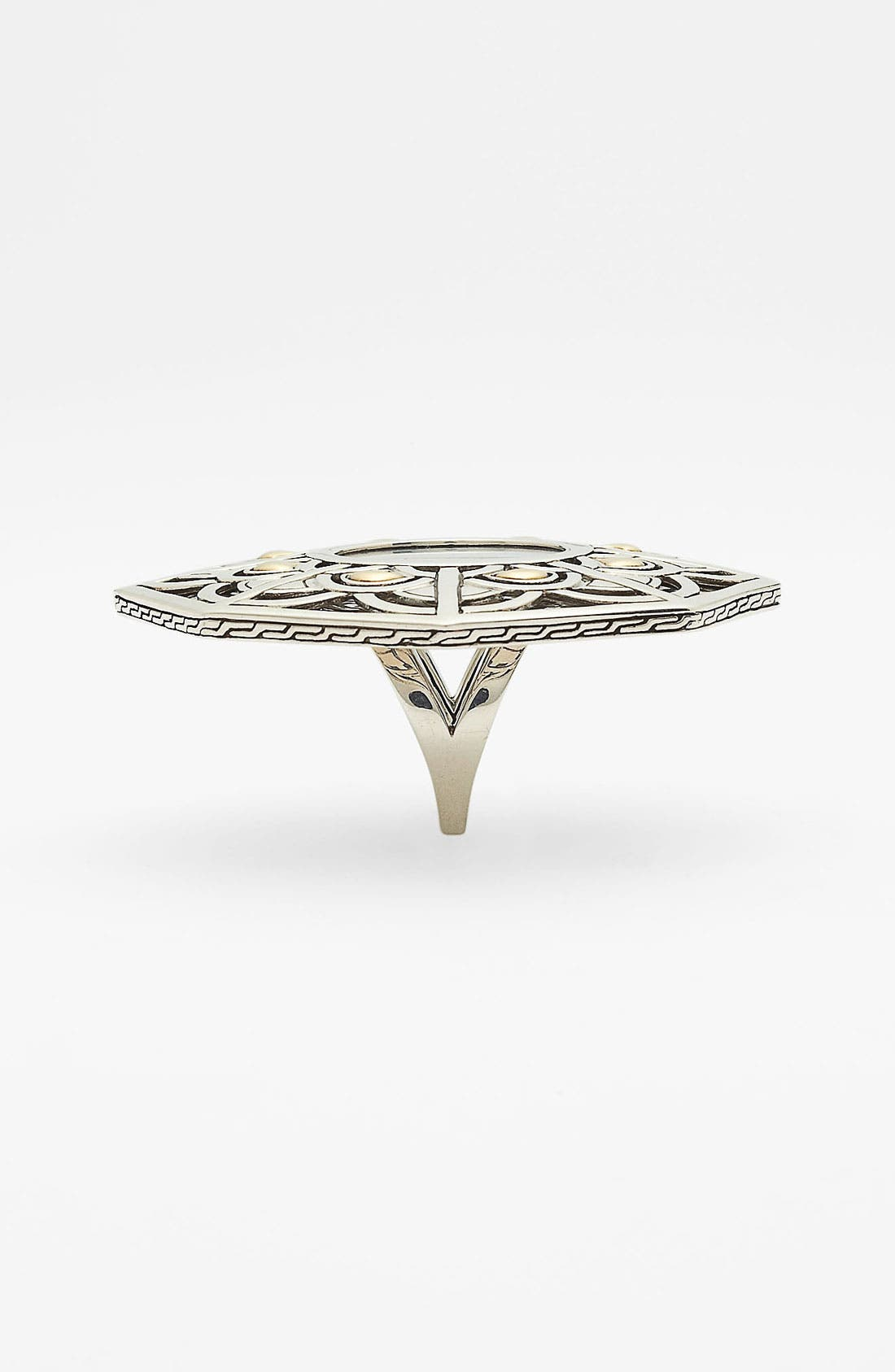 Alternate Image 2  - John Hardy 'Naga' Mother-of-Pearl Hexagon Ring