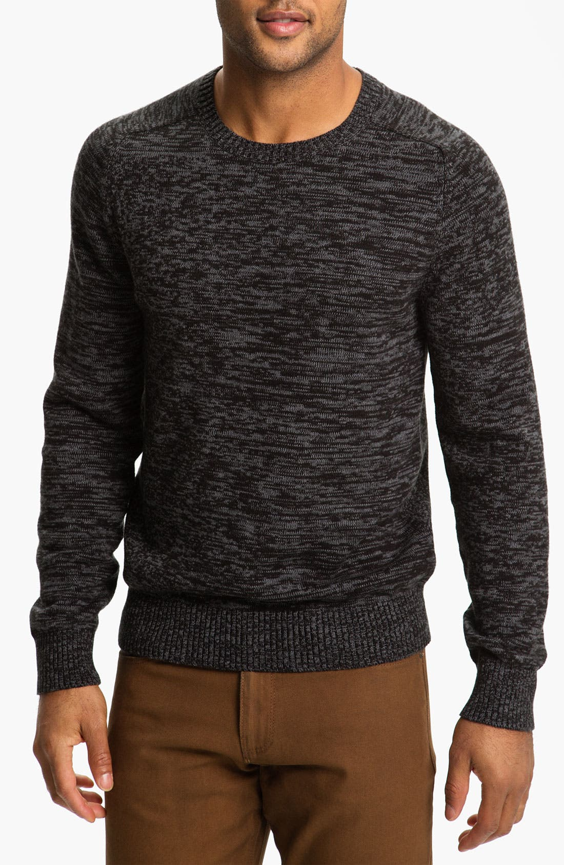 Alternate Image 1 Selected - Calibrate 'Witkin' Cotton & Cashmere Crewneck Sweater