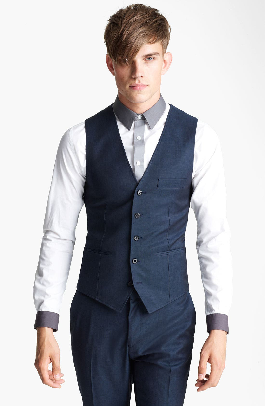 Alternate Image 1 Selected - Topman 'Tonic' Waistcoat