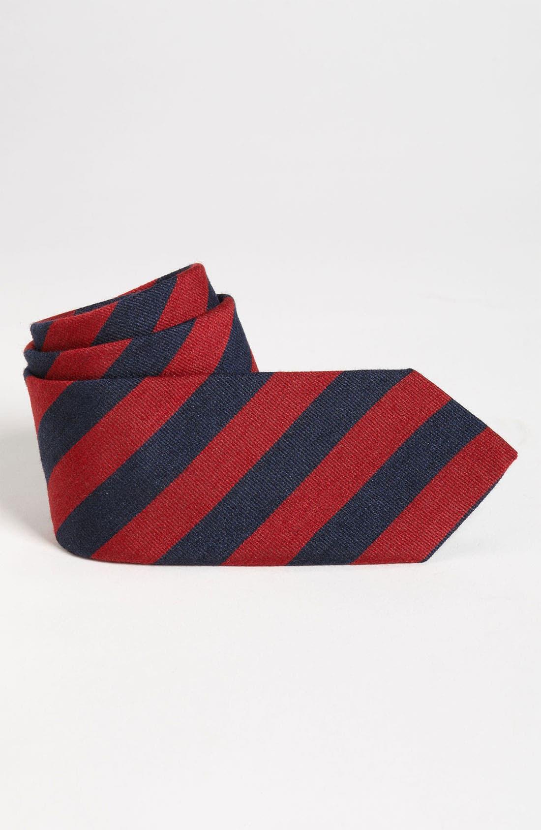 Main Image - Brooks Brothers Guard Stripe Tie (Big Boys)