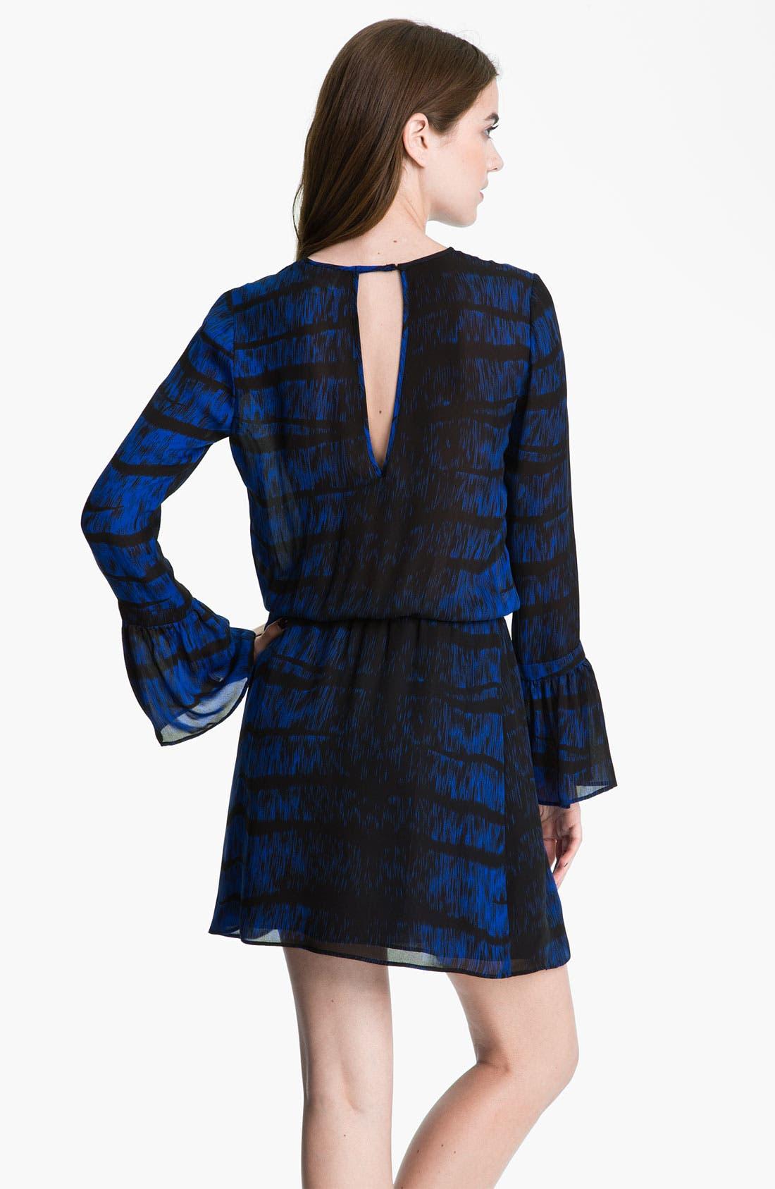 Alternate Image 2  - Parker Bell Sleeve Keyhole Dress