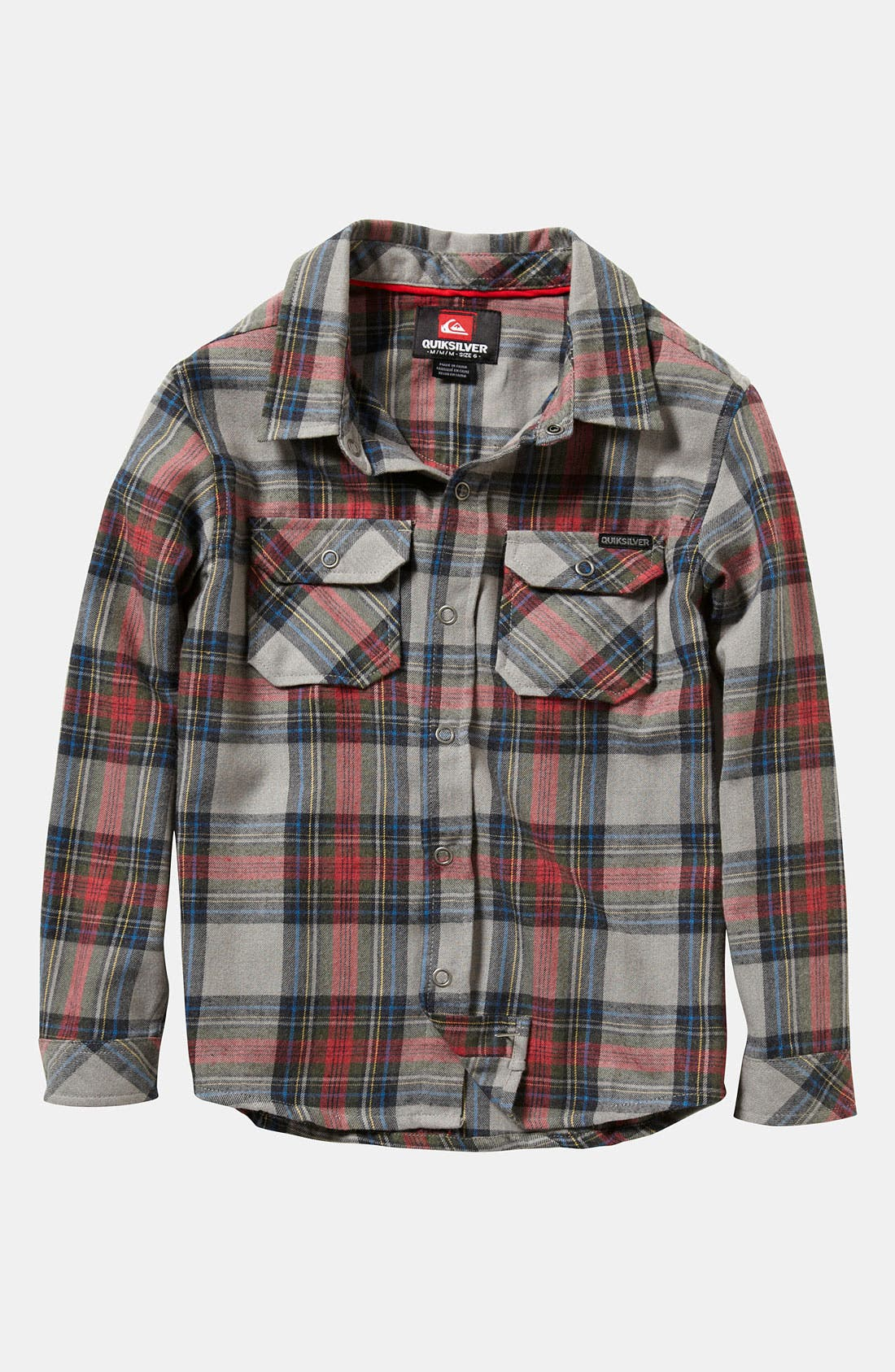 Alternate Image 1 Selected - Quiksilver 'Milk Cash' Woven Shirt (Toddler)