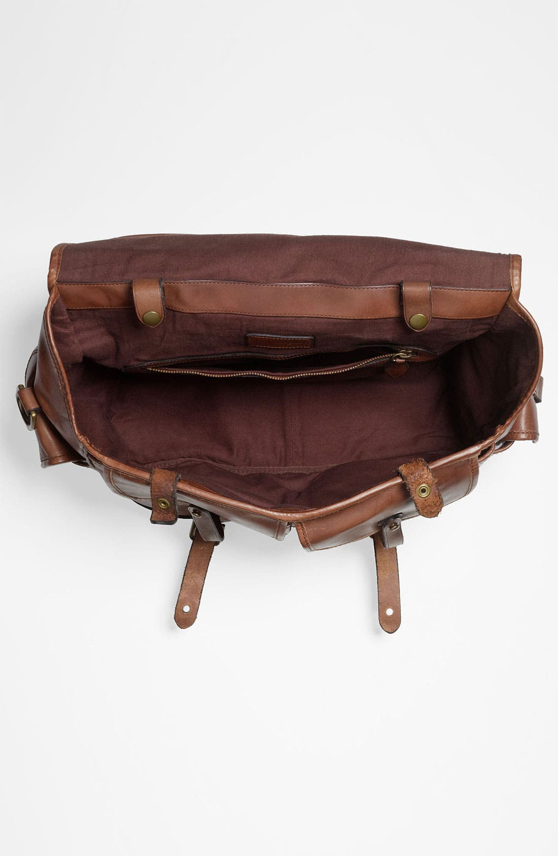 Alternate Image 3  - Polo Ralph Lauren Leather Briefcase
