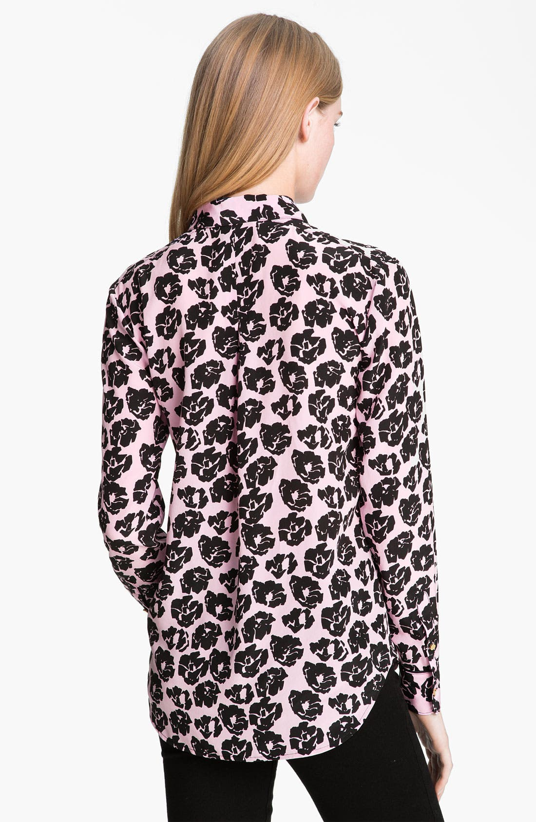 Alternate Image 2  - Juicy Couture Rose Print Shirt