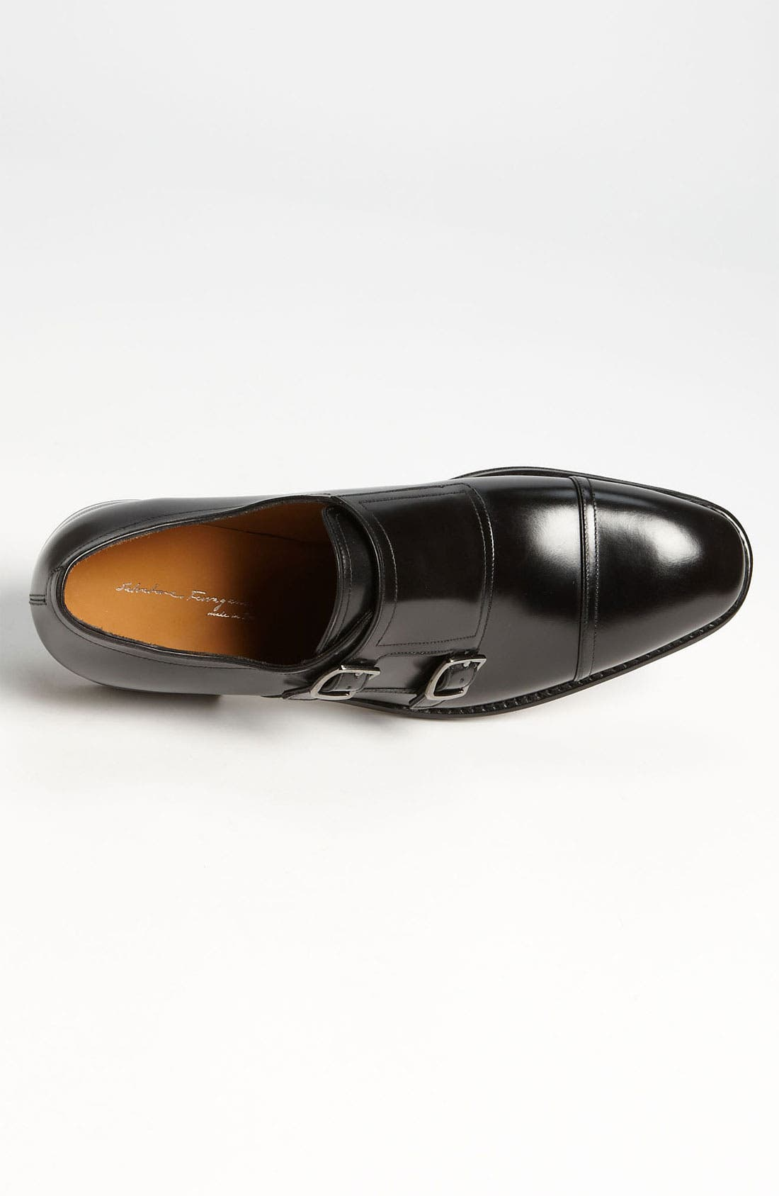 Alternate Image 3  - Salvatore Ferragamo 'Duran' Double Monk Strap Slip-On