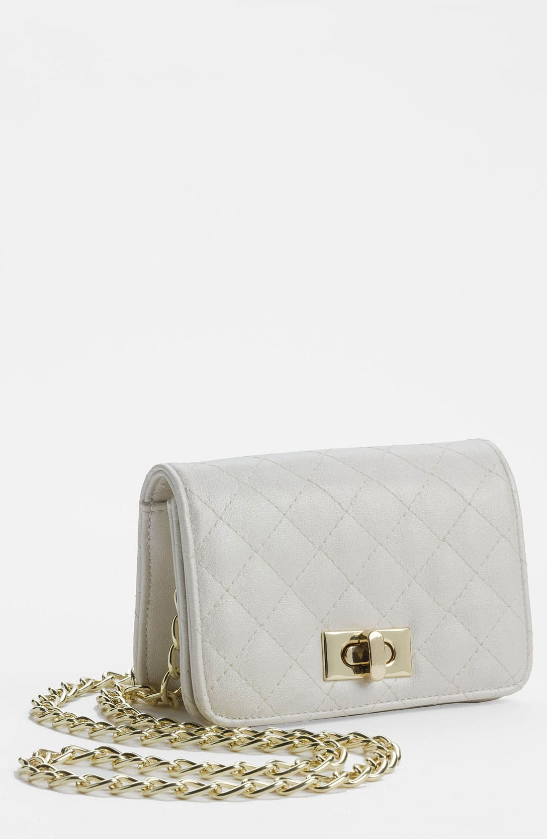 Main Image - Lulu 'Mini' Quilted Crossbody Bag