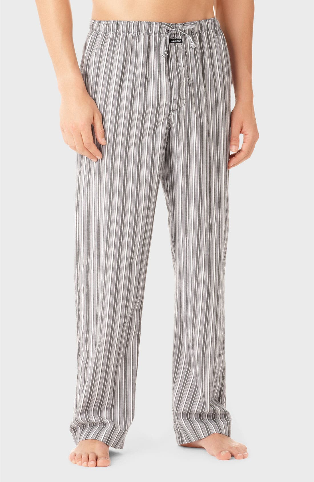 Alternate Image 1 Selected - Calvin Klein Cotton Lounge Pants