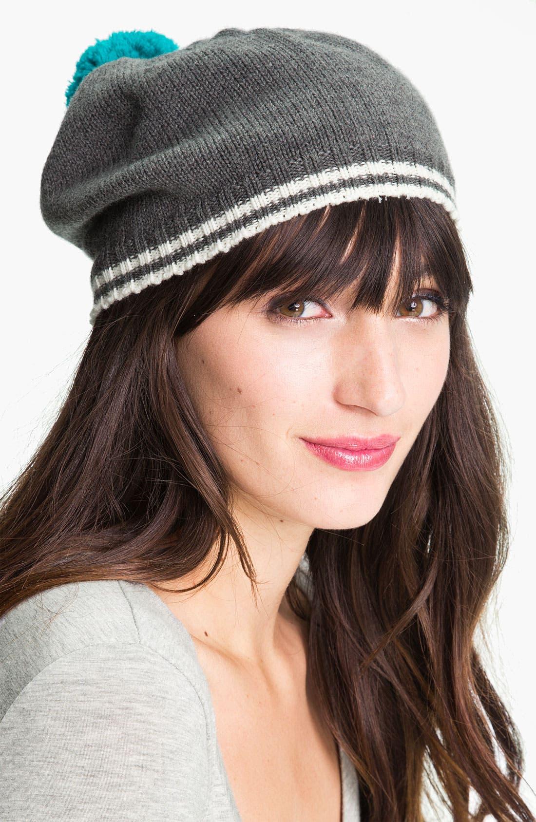 Alternate Image 1 Selected - kate spade new york 'mod spot' wool beret