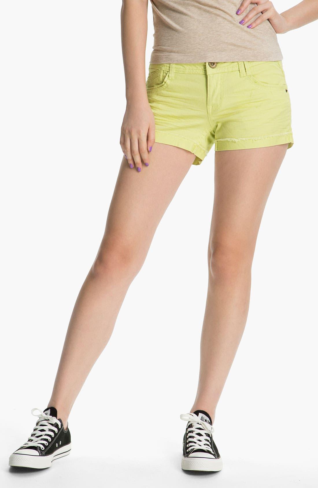 Alternate Image 2  - Jolt Cuffed Shorts (Juniors)