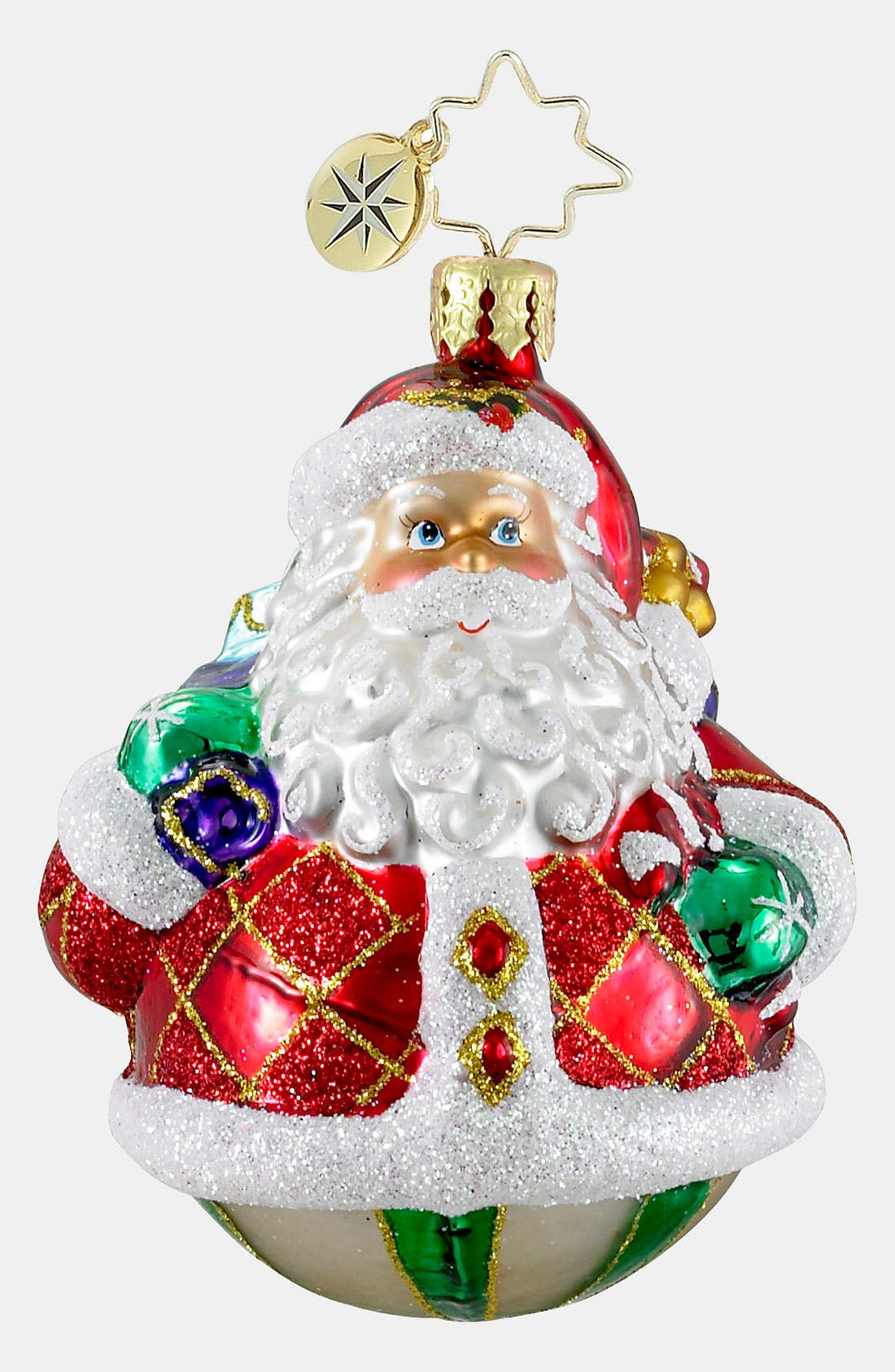 Alternate Image 1 Selected - Christopher Radko 'Rollin' Ruby Clause' Ornament
