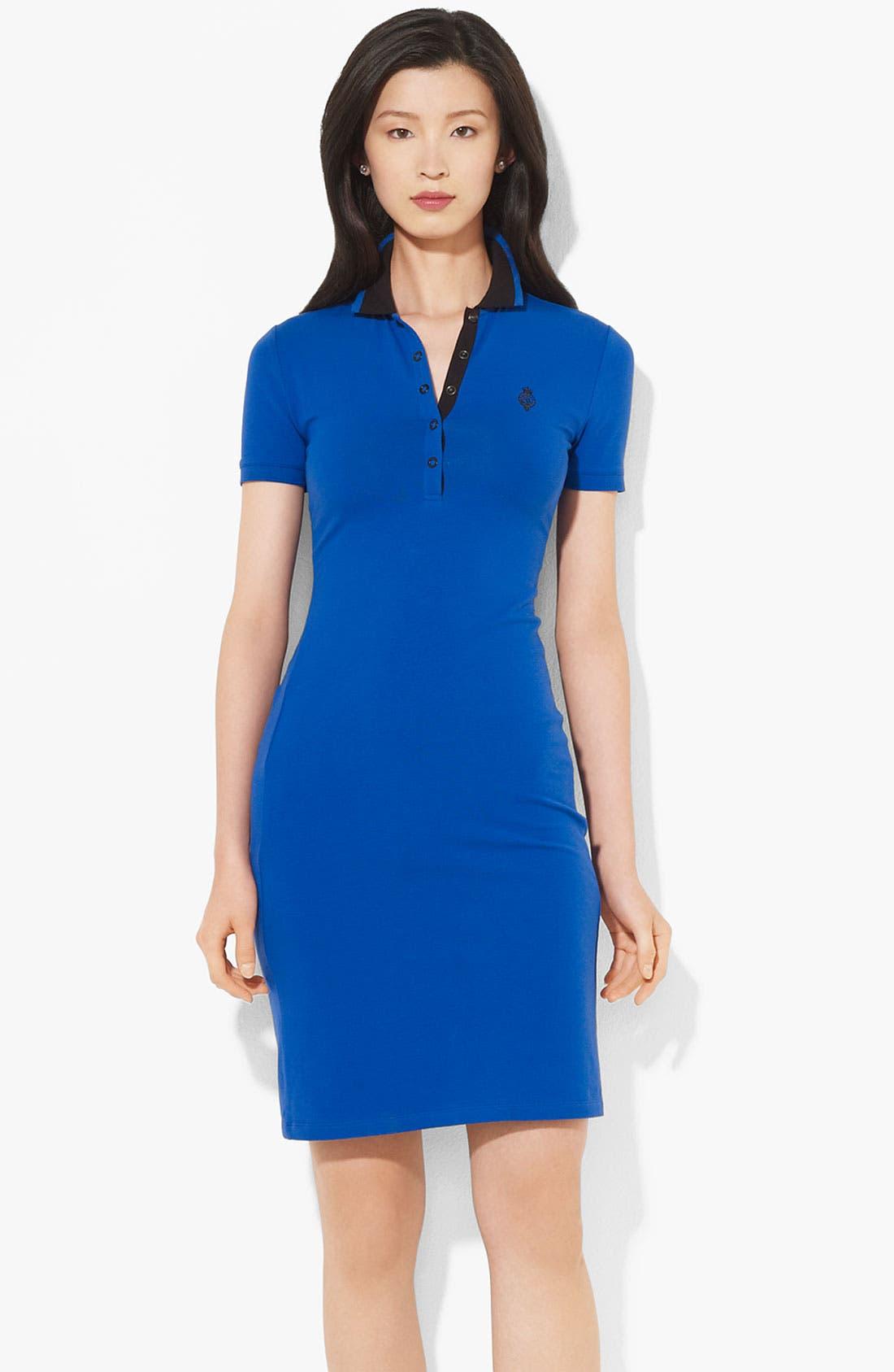 Alternate Image 1 Selected - Lauren Ralph Lauren Polo Dress