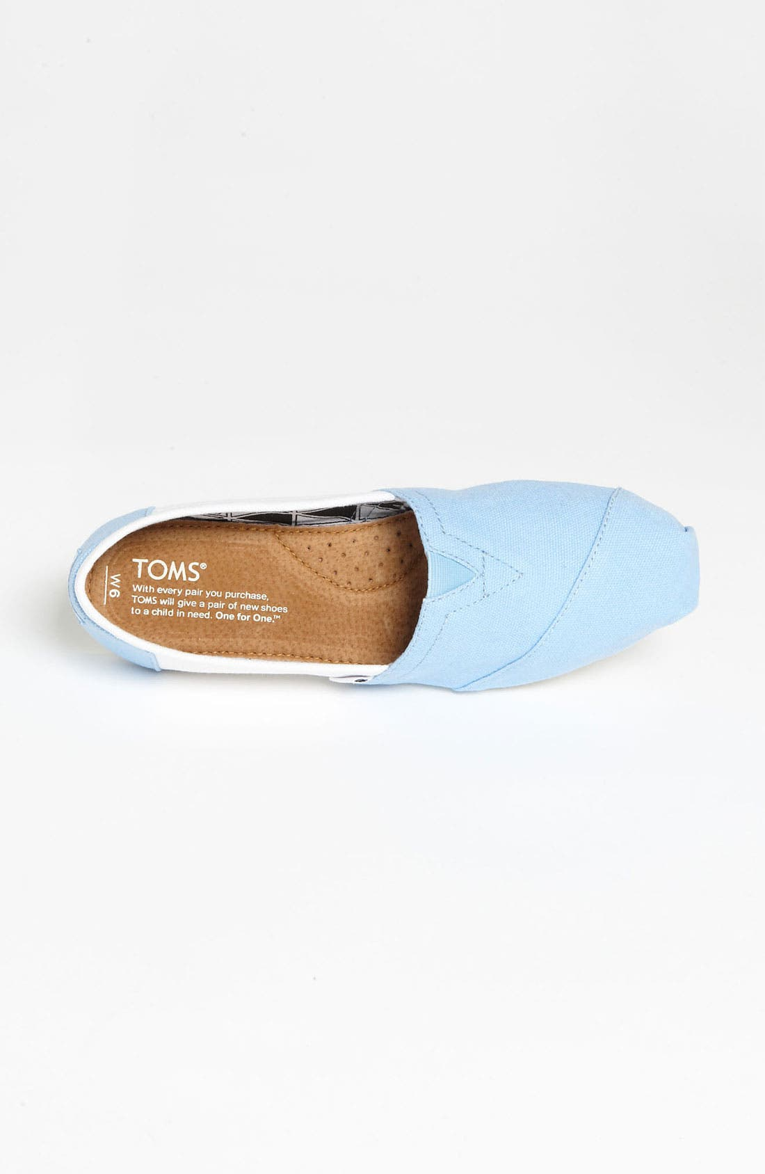 Alternate Image 3  - TOMS 'Campus Classics - UNC' Slip-On (Women)