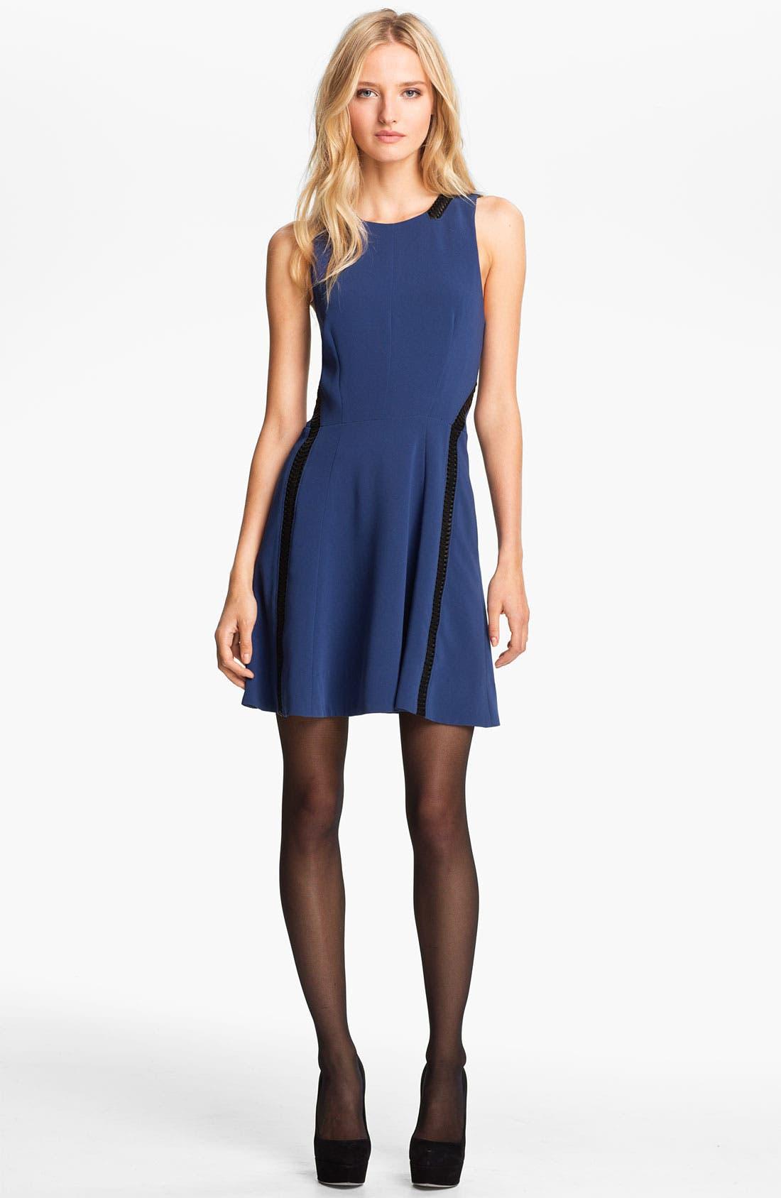 Main Image - rag & bone 'Renard' Full Skirt Dress