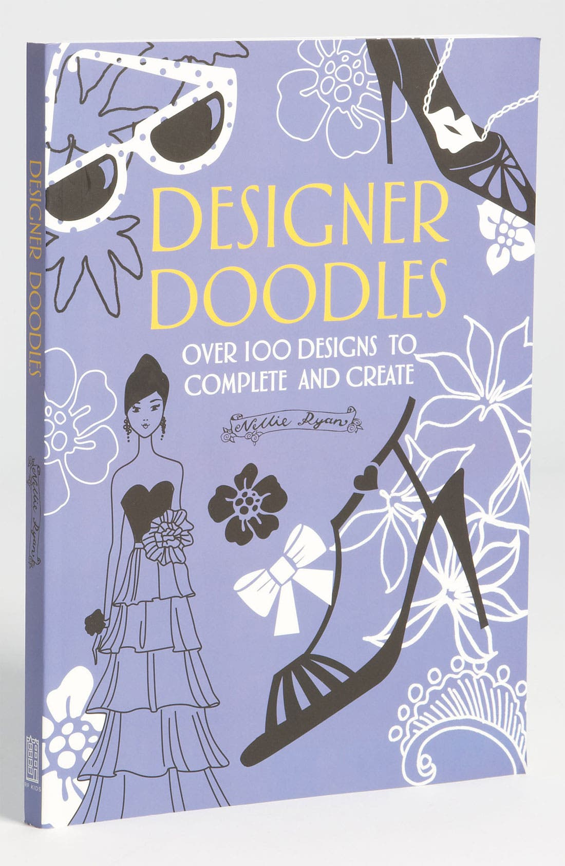 Alternate Image 1 Selected - Nellie Ryan 'Designer Doodles' Book (Girls)