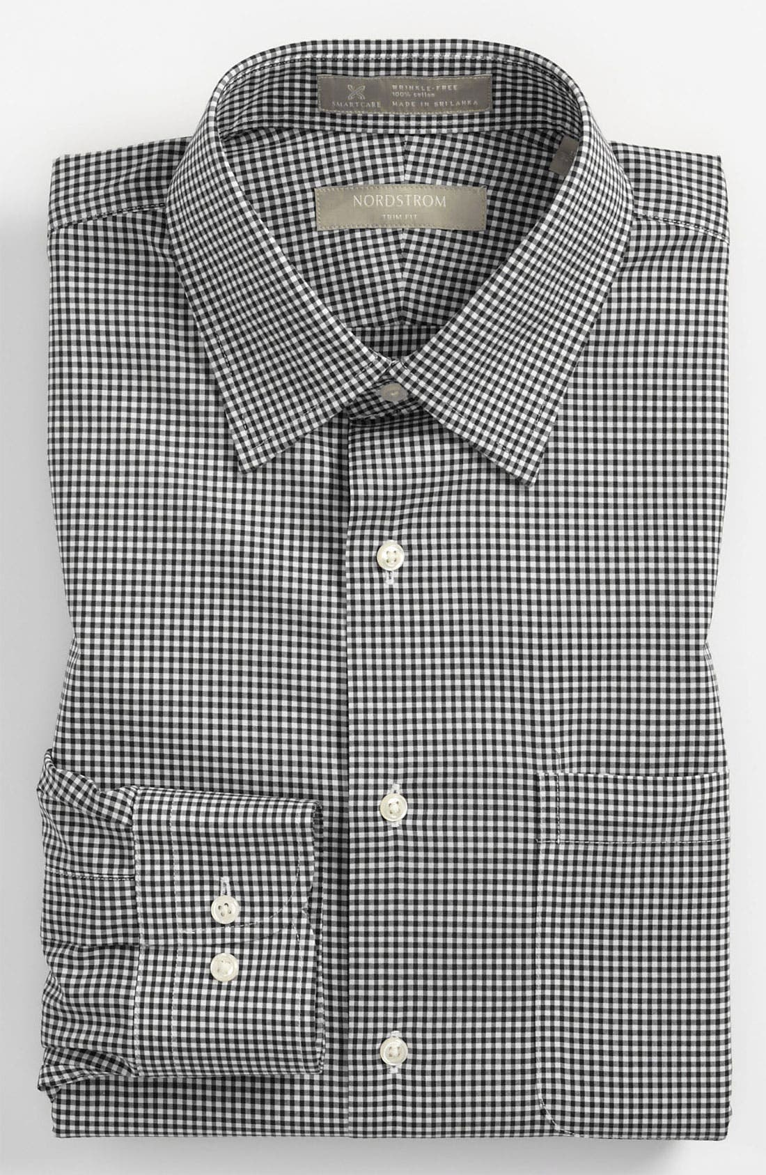 Main Image - Nordstrom Men's Shop Smartcare™ Trim Fit Dress Shirt