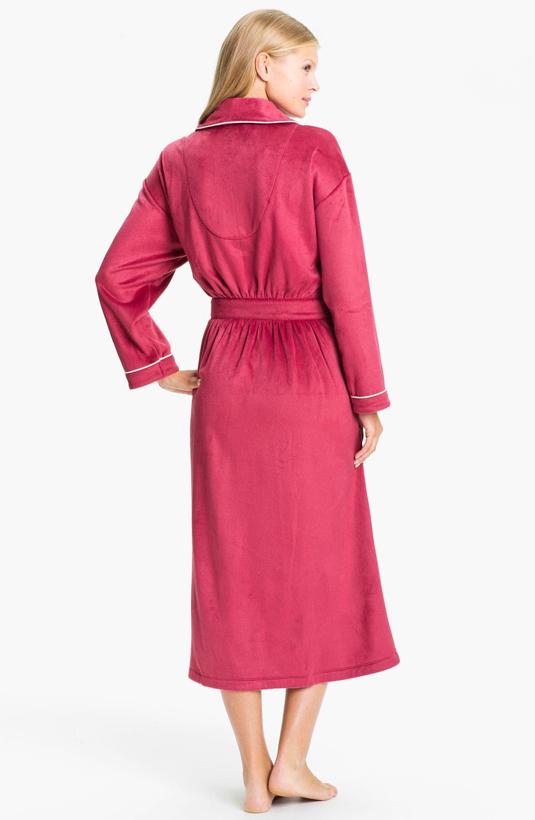 Alternate Image 2  - Eileen West 'Empress' Velour Robe