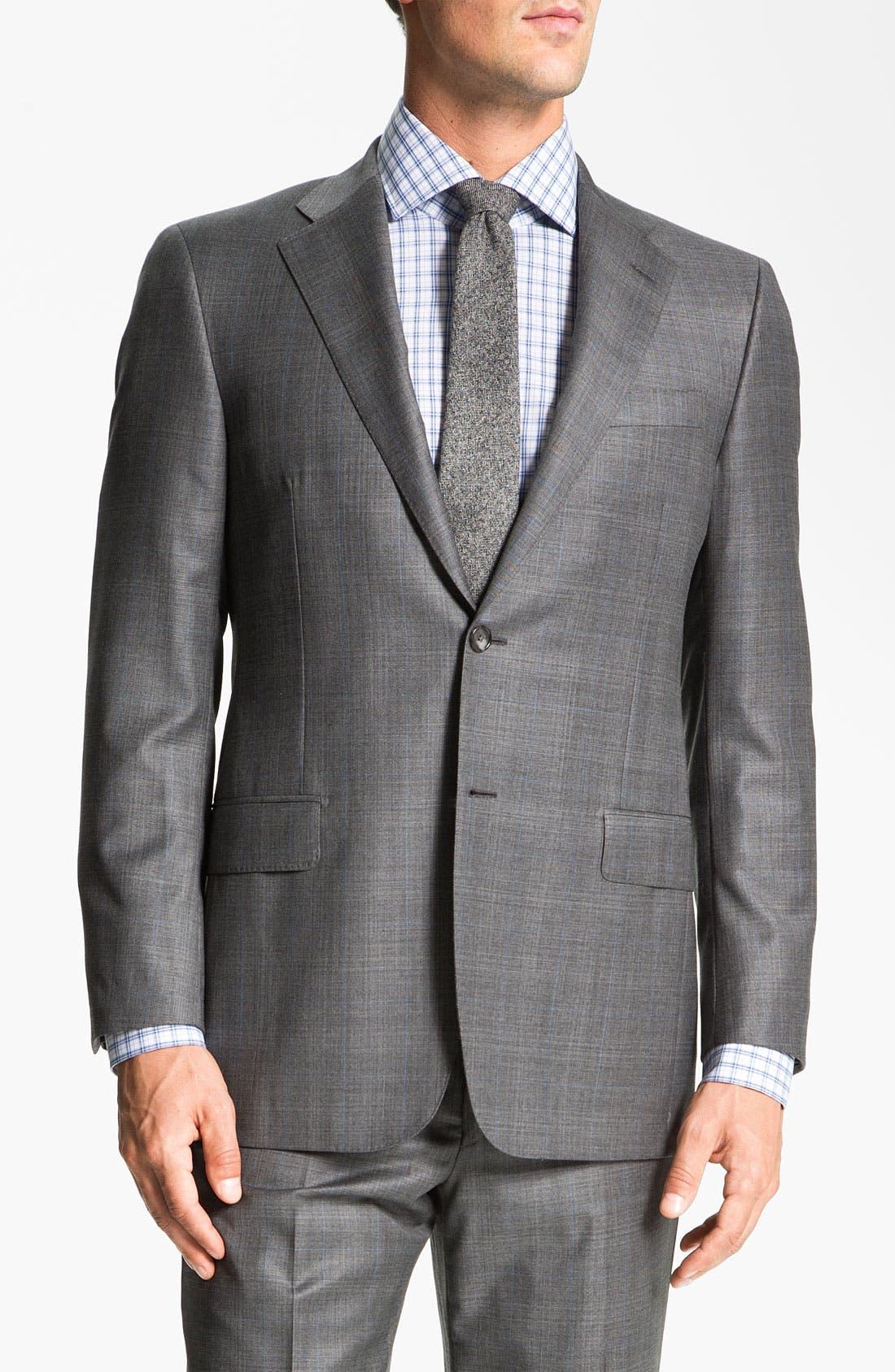 Alternate Image 1 Selected - Hickey Freeman 'B Series' Wool Suit