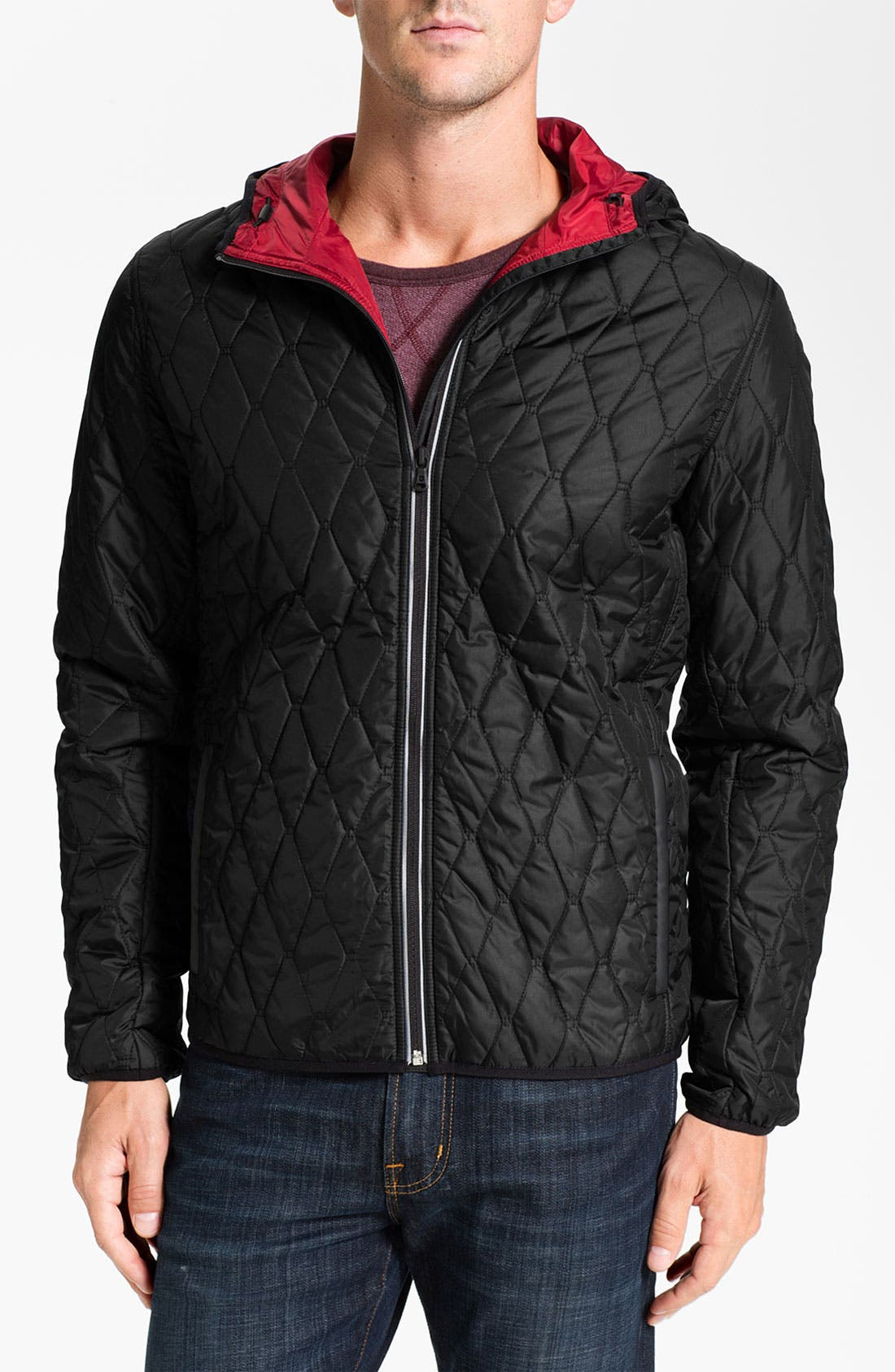 Alternate Image 1 Selected - Victorinox Swiss Army® 'Davos' Quilted Jacket (Online Exclusive)