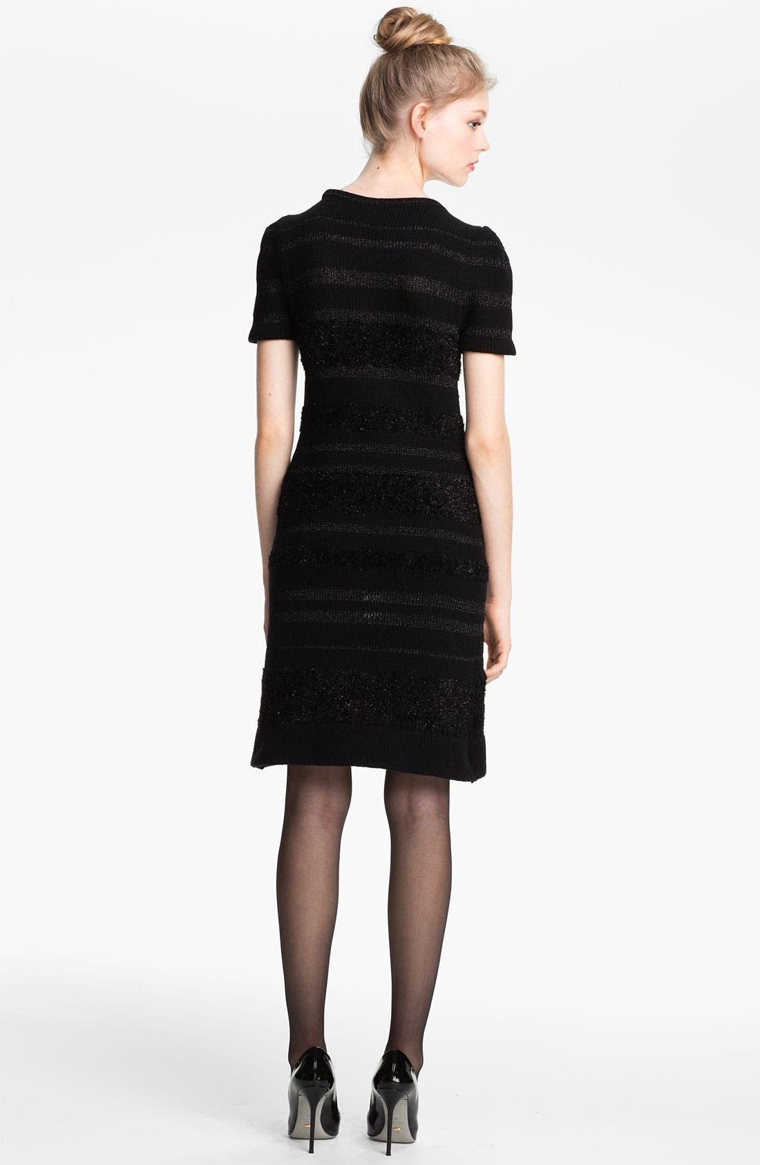 Alternate Image 2  - Mcginn 'Alicia' Bead & Fringe Embellished Sweater Dress
