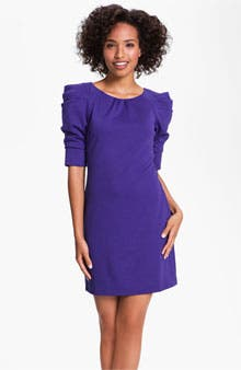 Main Image - Jessica Simpson Puff Sleeve Ponte Dress