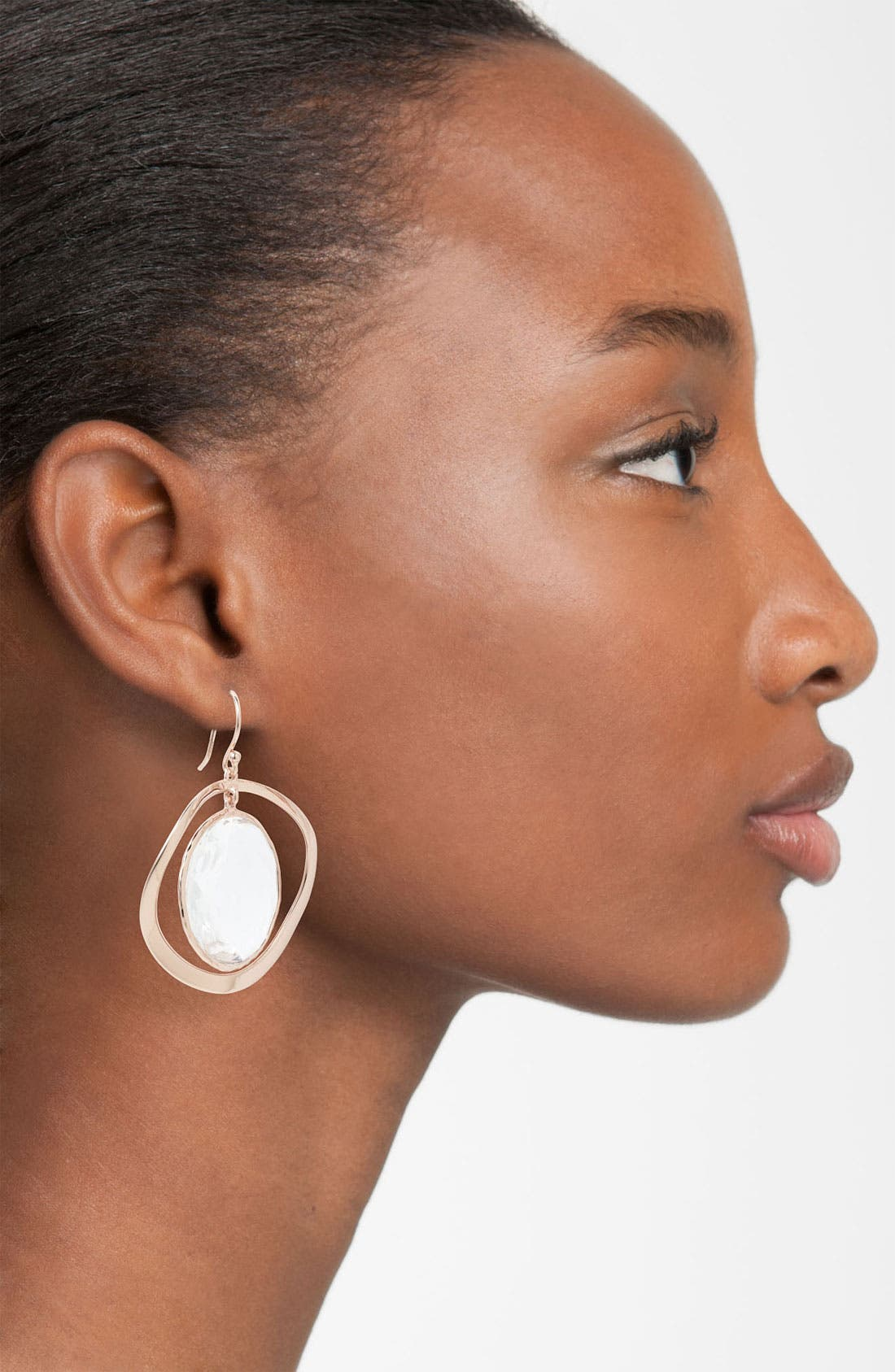 Alternate Image 2  - Ippolita 'Lite Links' Round Stone Drop Earrings