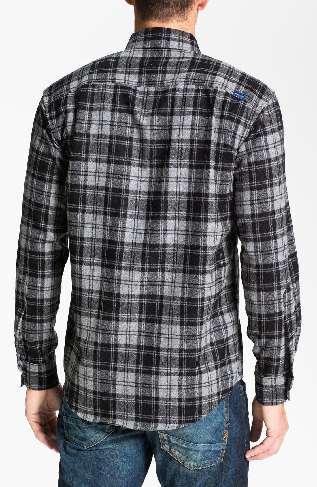 Alternate Image 2  - Pendleton 'Fireside' Wool Plaid Flannel Shirt
