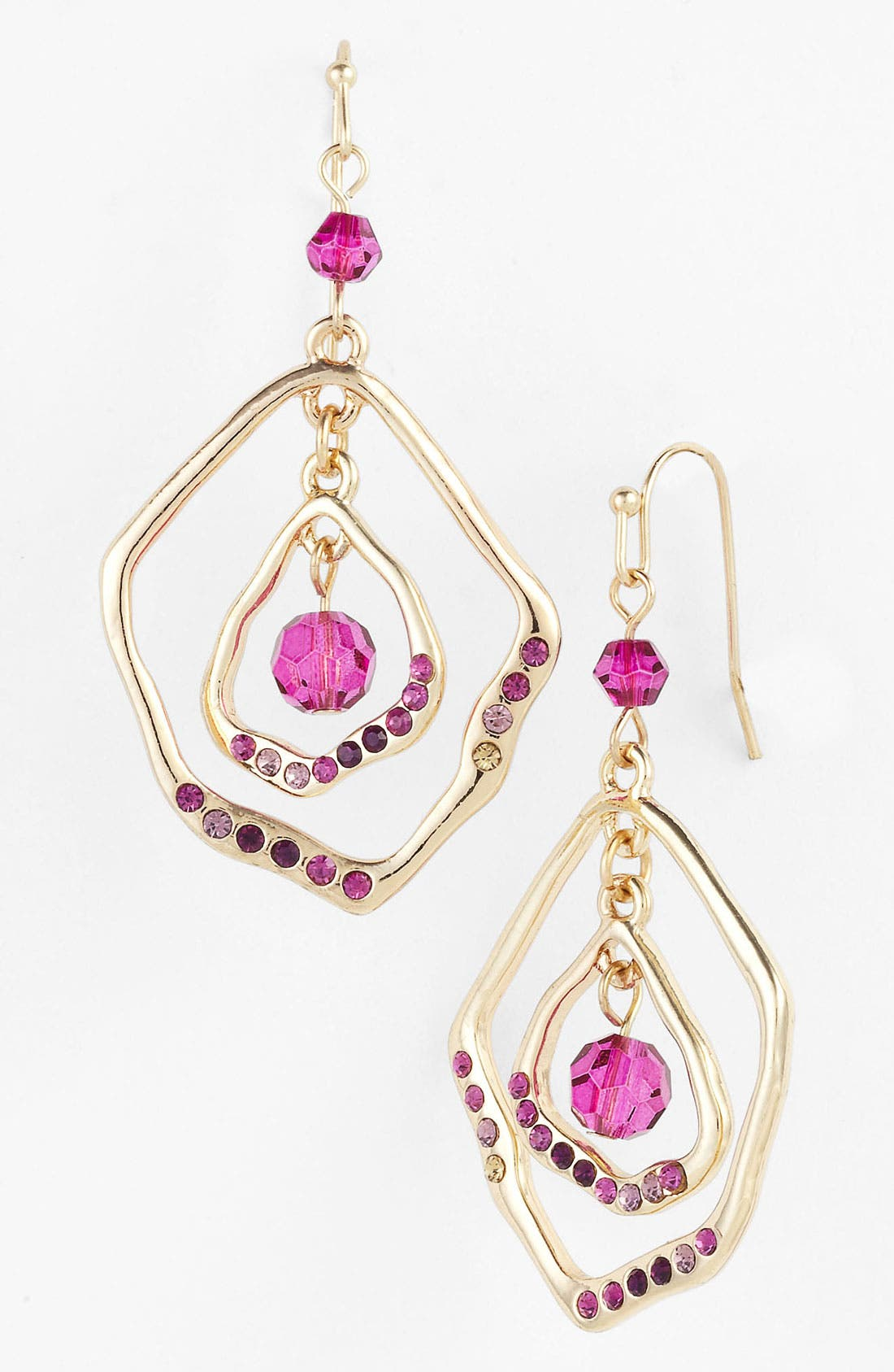Alternate Image 1 Selected - Sequin 'Holiday Hockney' Open Drop Earrings (Nordstrom Exclusive)