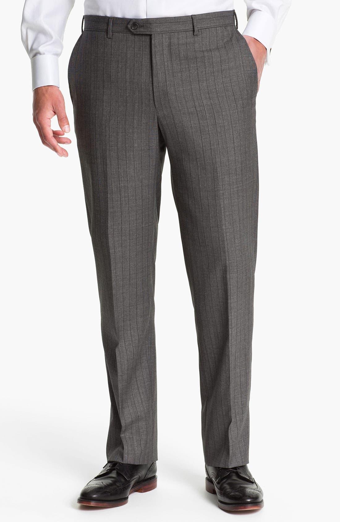 Alternate Image 4  - Pal Zileri Trim Fit Wool Suit