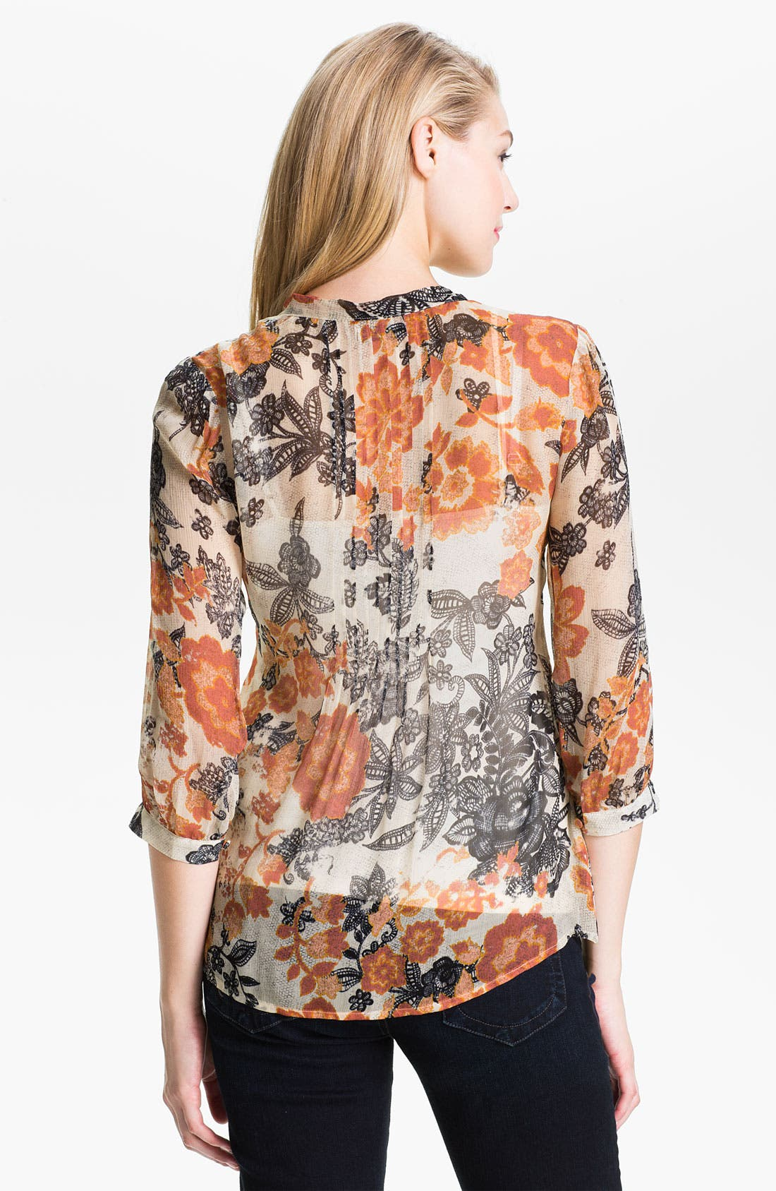 Alternate Image 2  - Lucky Brand 'Talitha' Floral Blouse