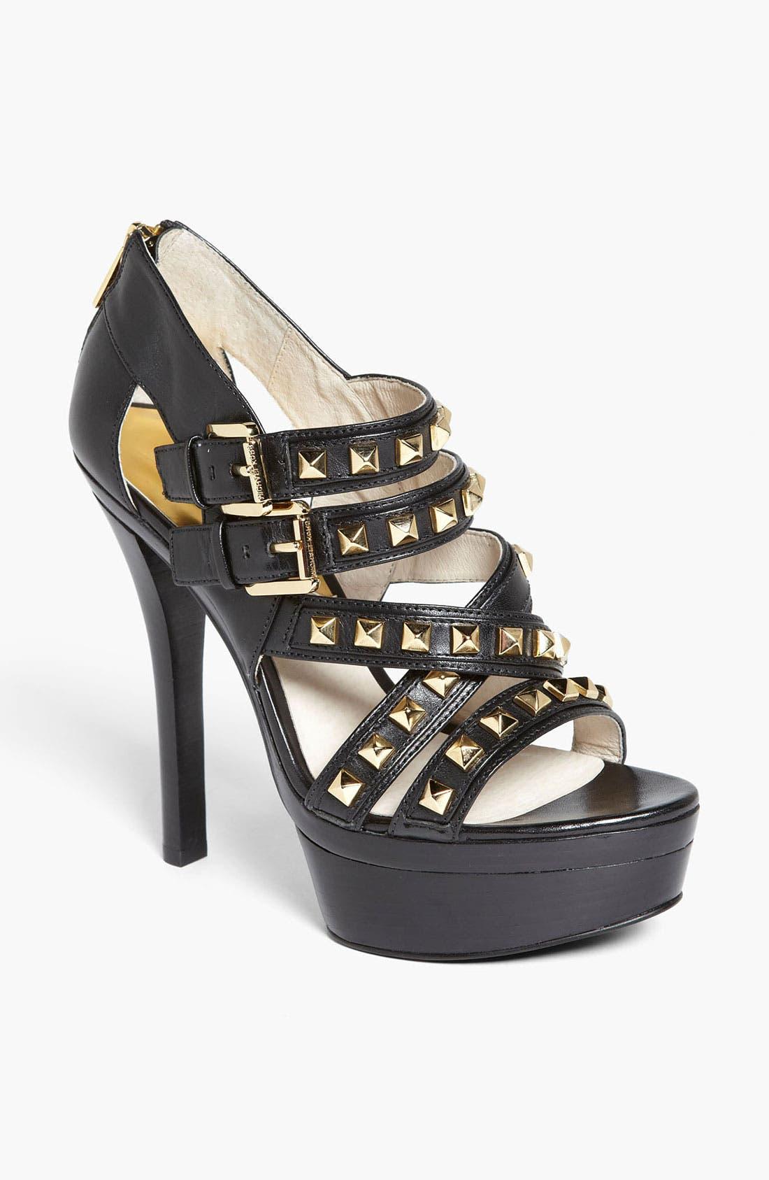 Alternate Image 1 Selected - MICHAEL Michael Kors 'Aria' Platform Sandal