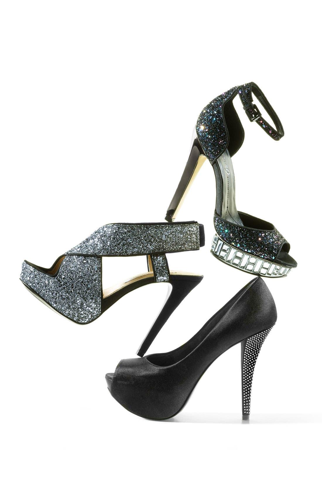 Alternate Image 5  - Diane von Furstenberg 'Zia' Glitter Sandal